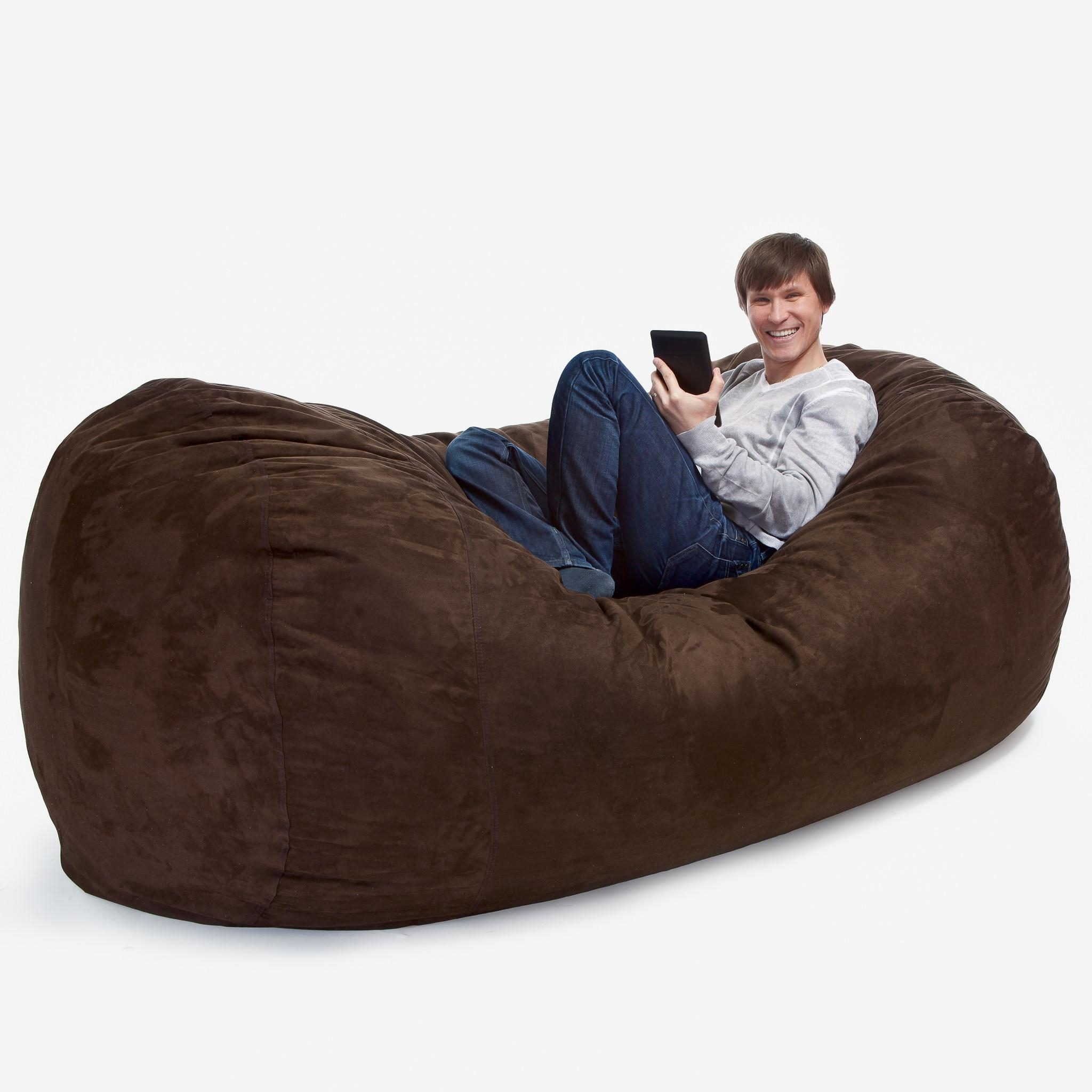 7 Classy, Adult Bean Bags Room & Bath Regarding Bean Bag Sofa Chairs (View 15 of 20)