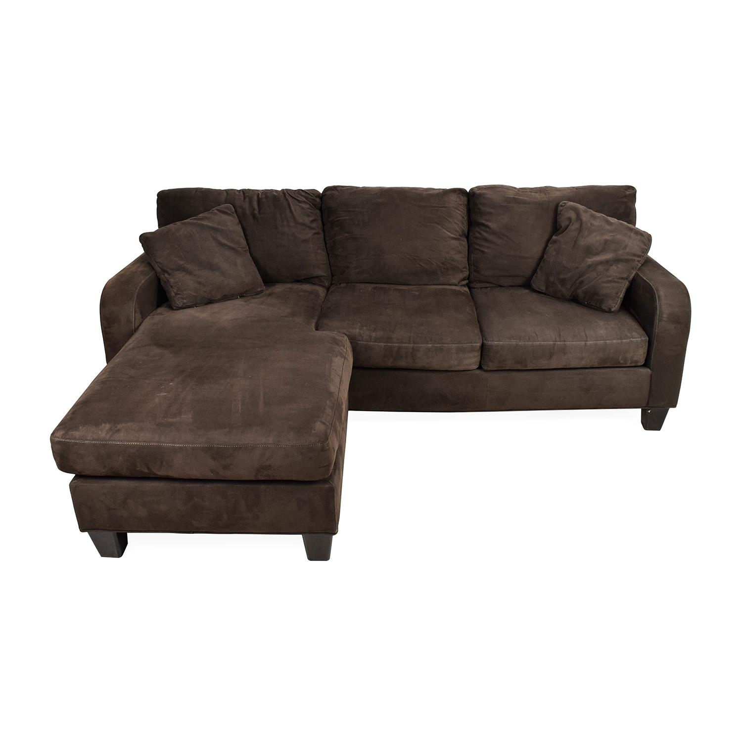 70% Off - Cindy Crawford Home Cindy Crawford Bailey Microfiber pertaining to Cindy Crawford Sofas