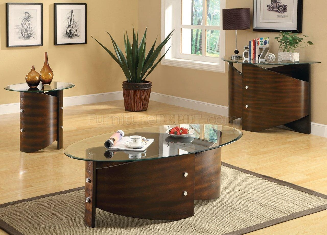 701748 3Pc Coffee Table Setcoaster W/optional Sofa Table regarding Sofa Table Chairs