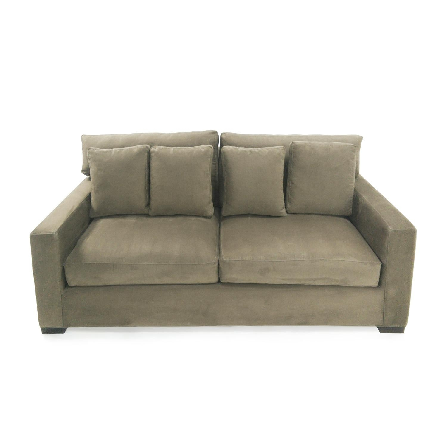 72% Off - Crate And Barrel Crate & Barrel Axis Ii Seat Sofa / Sofas pertaining to Antoinette Fainting Sofas
