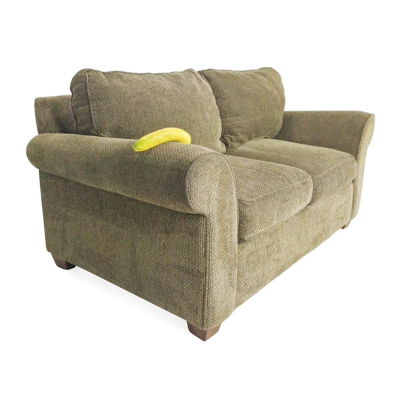 75% Off - Bloomingdales Bloomingdales Classic Loveseat / Sofas regarding Bloomingdales Sofas