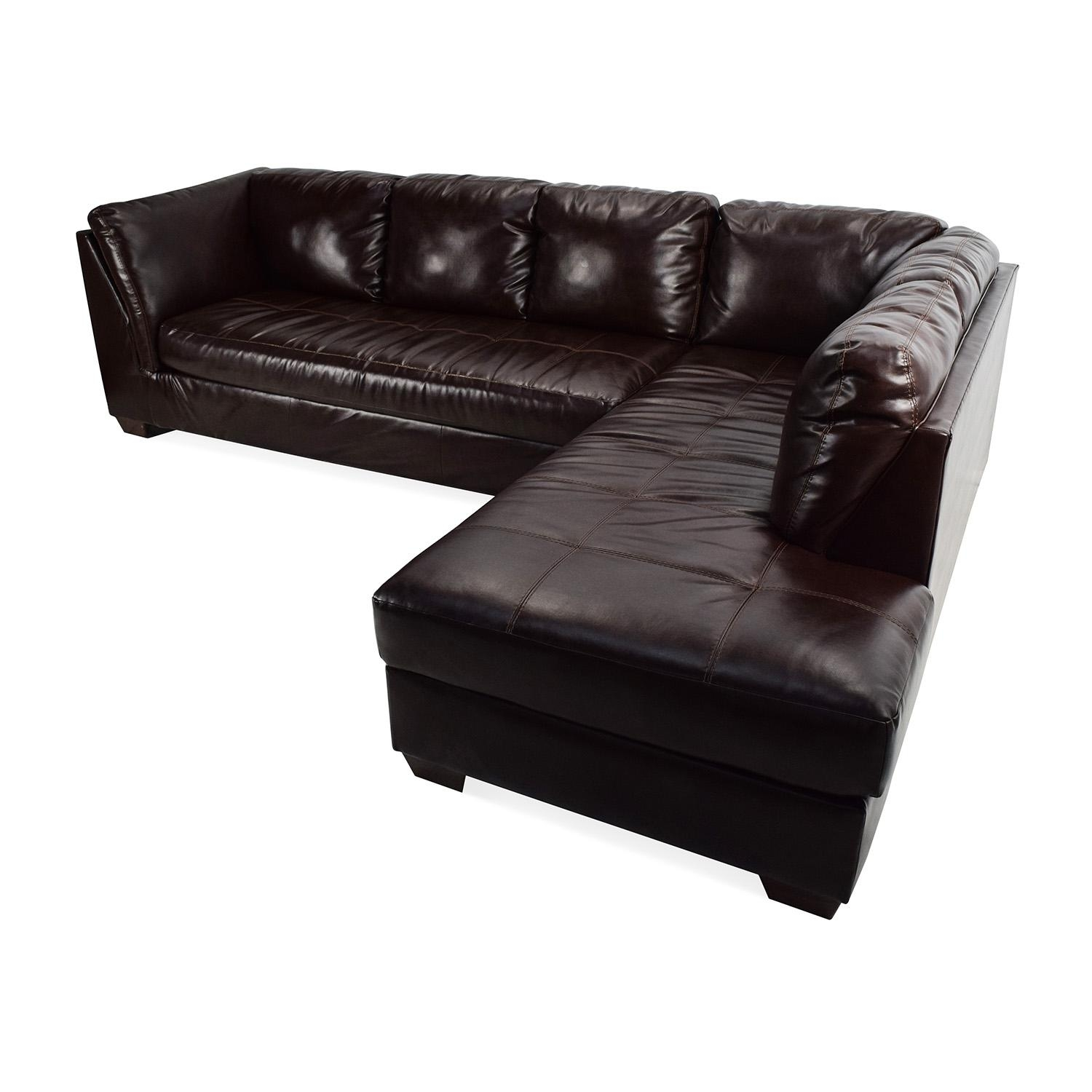 75% Off - Jennifer Convertibles Jennifer Convertibles Brown with Jennifer Sofas