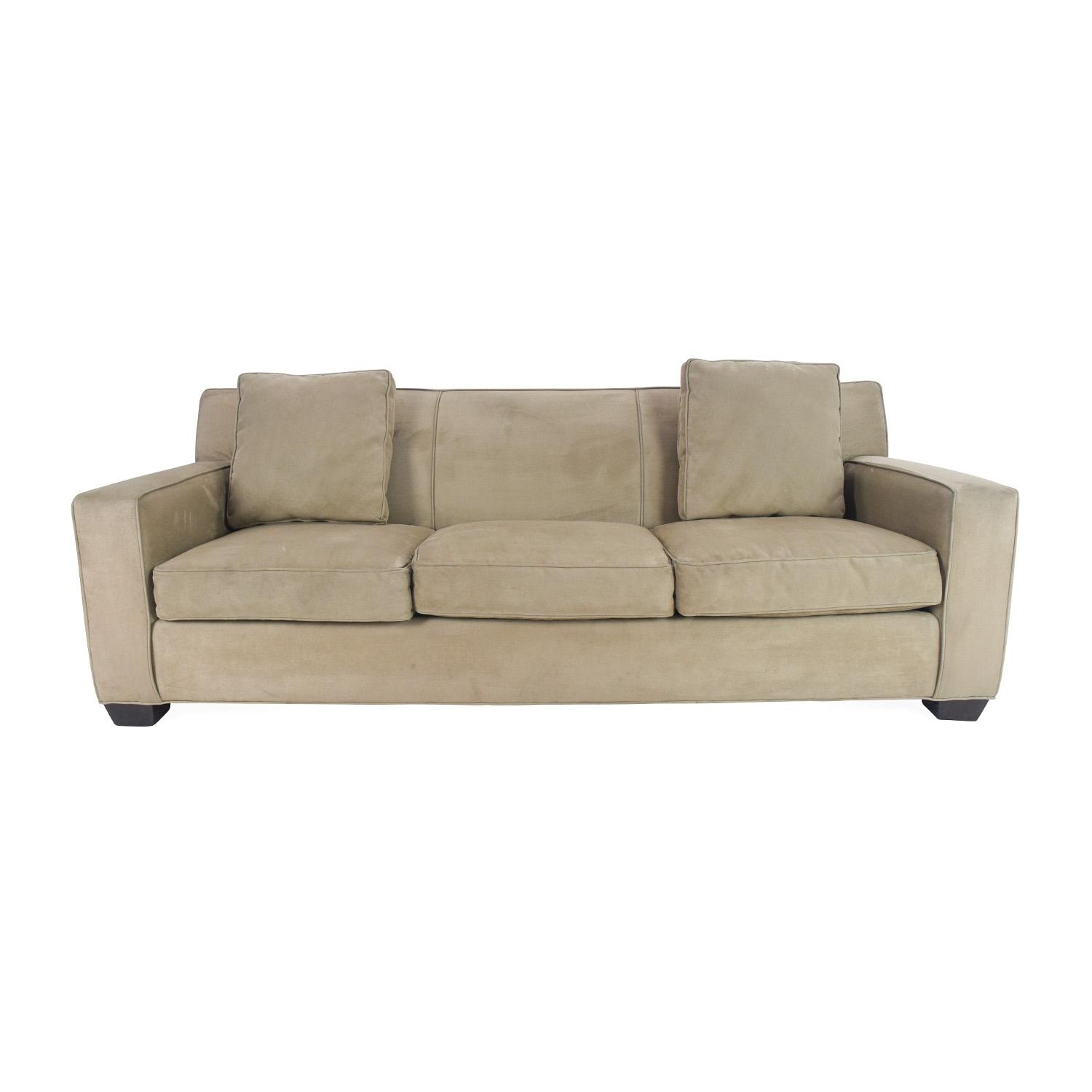 78% Off – Crate And Barrel Crate And Barrel Cameron Sofa / Sofas For Crate And Barrel Futon Sofas (Image 7 of 20)