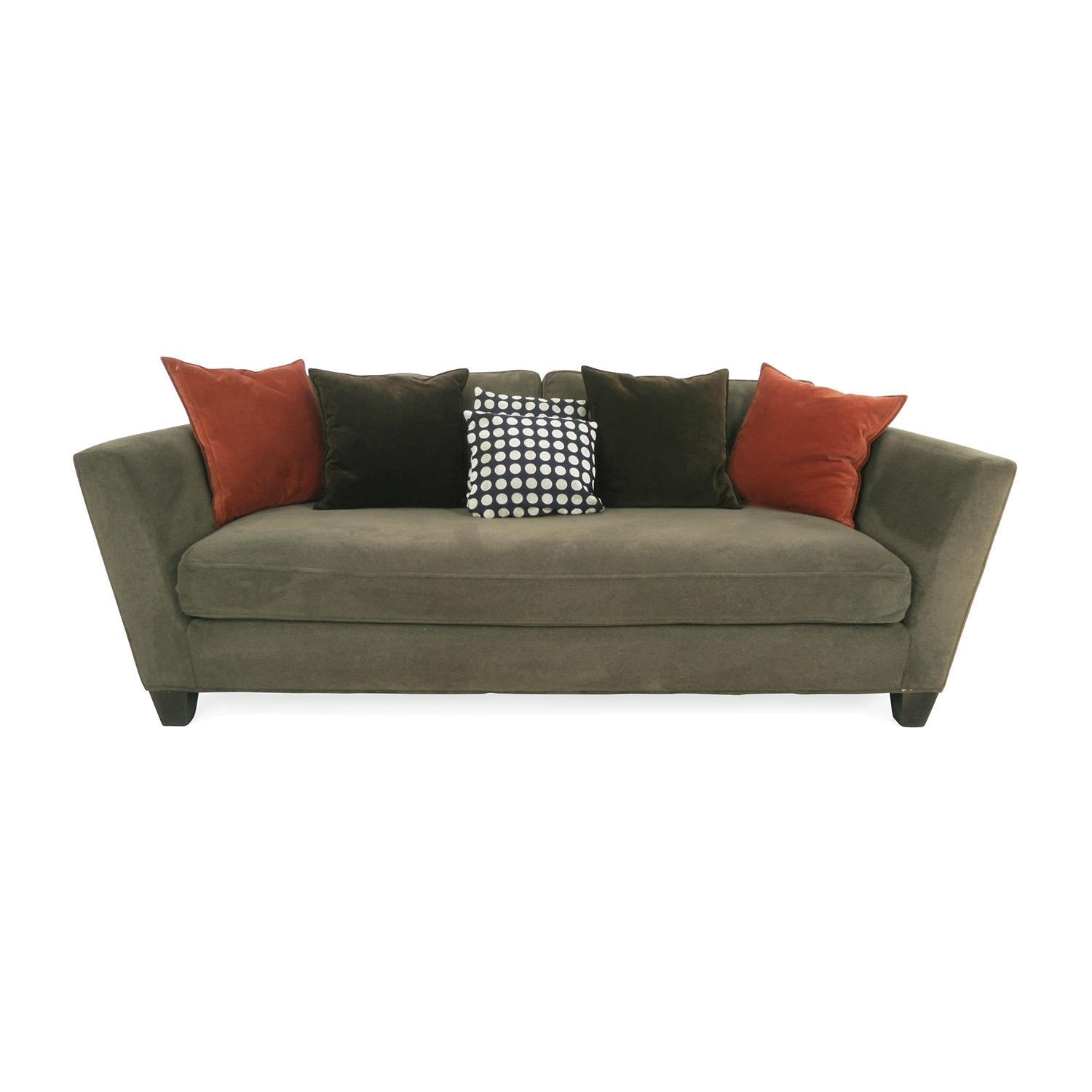 78% Off - Crate And Barrel Crate And Barrel Marlowe Daybed / Sofas for Crate And Barrel Futon Sofas
