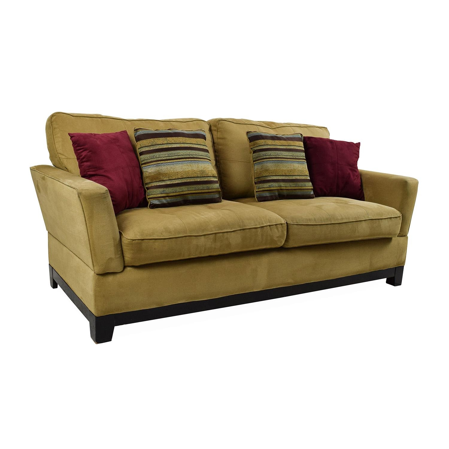 78% Off – Jennifer Convertibles Jennifer Convertibles Tan Sofa / Sofas In Jennifer Sofas (Image 7 of 20)