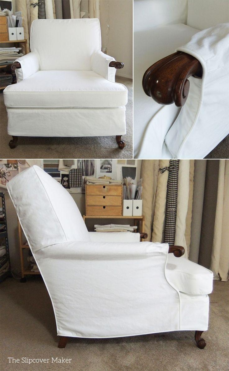 8 Best Susan's White Canvas Slipcovers Images On Pinterest inside Canvas Slipcover Sofas