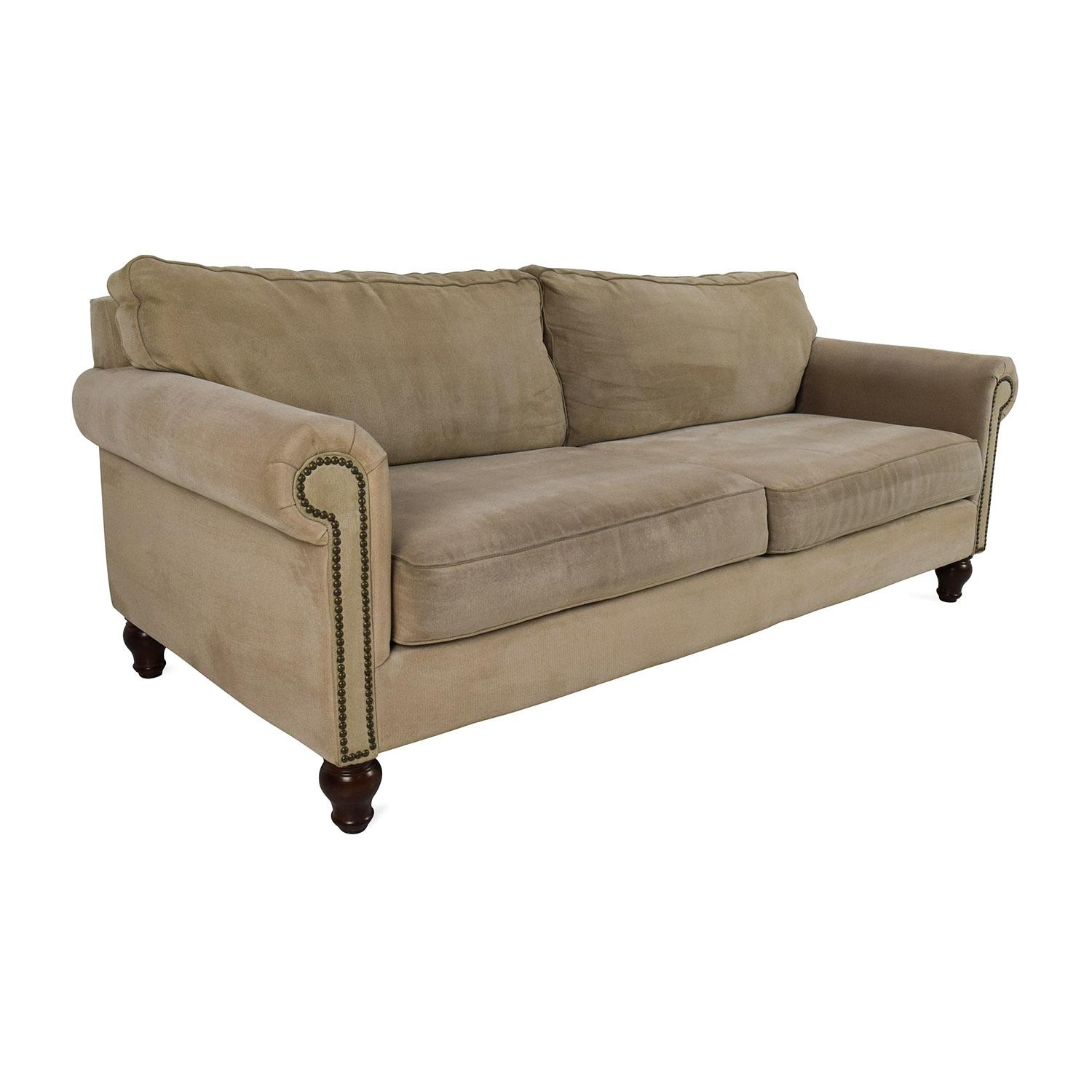 80% Off – Pier 1 Imports Pier 1 Alton Rolled Arm Sofa / Sofas With Pier 1 Sofas (Image 8 of 20)