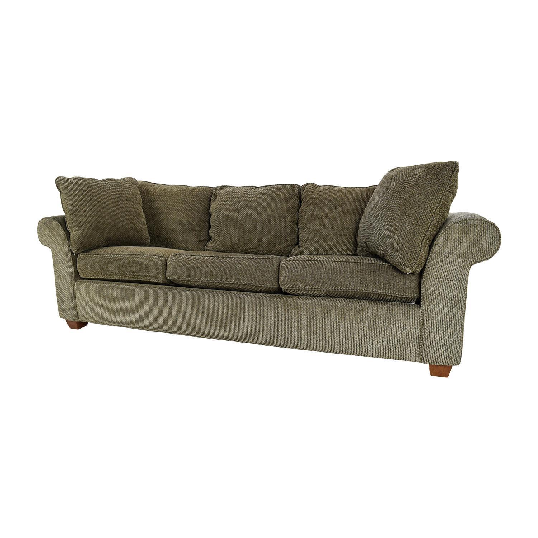 82% Off – Bloomingdale's Bloomingdale's Pullout Sofa / Sofas Inside Bloomingdales Sofas (Image 11 of 20)
