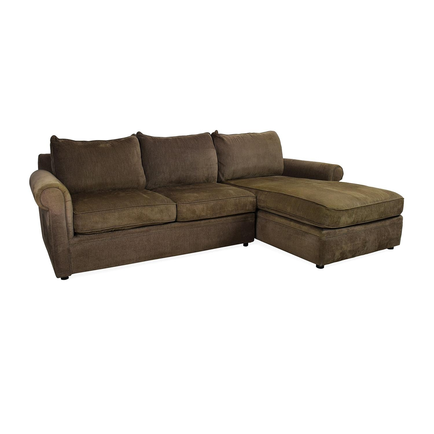 83% Off - Bloomingdales Bloomingdale's Sectional / Sofas inside Bloomingdales Sofas
