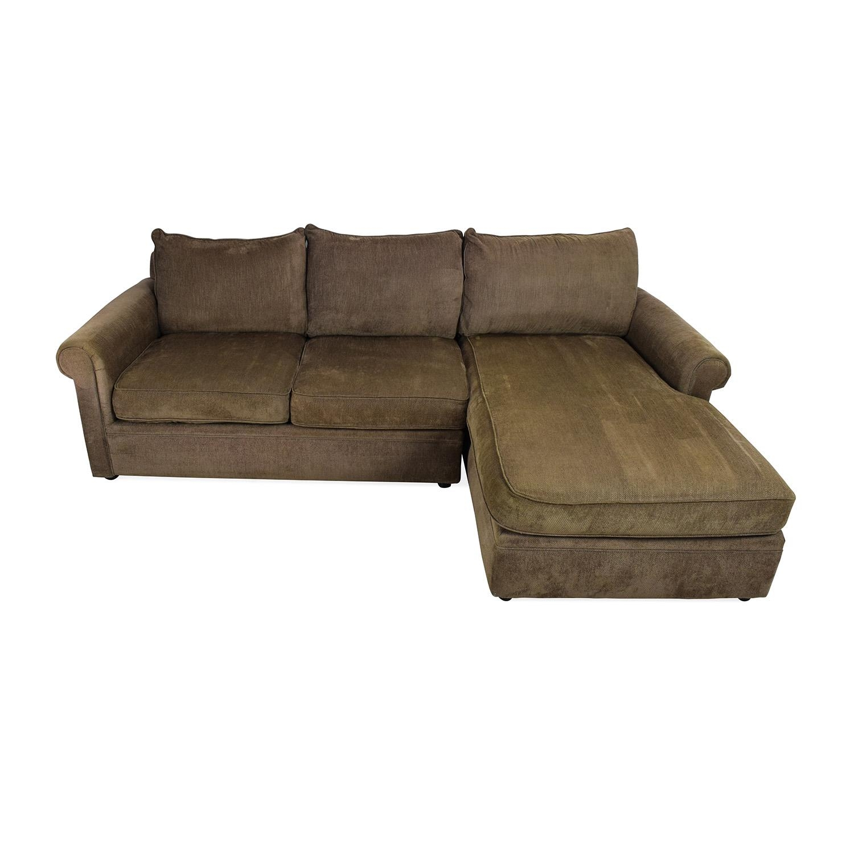 83% Off – Bloomingdales Bloomingdale's Sectional / Sofas With Regard To Bloomingdales Sofas (Image 14 of 20)