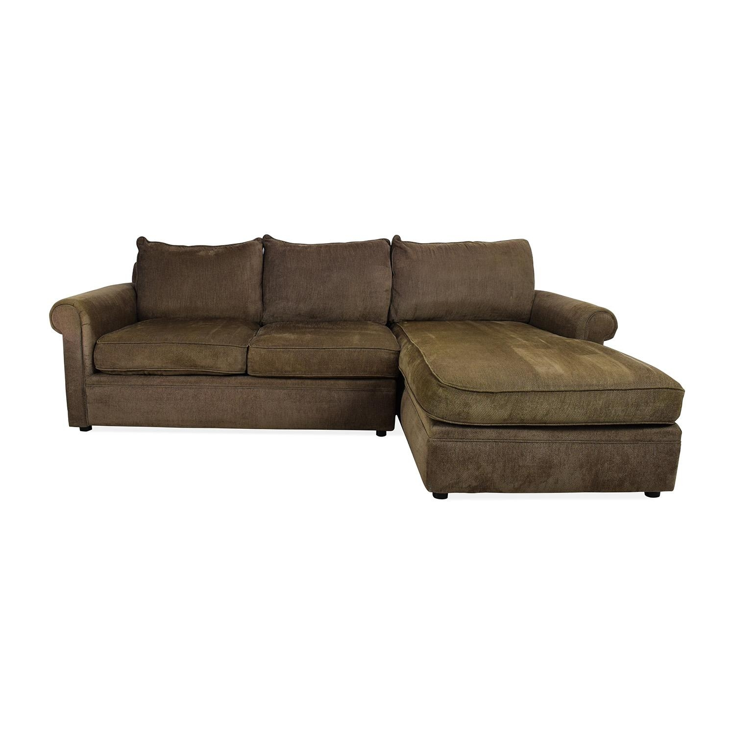 83% Off - Bloomingdales Bloomingdale's Sectional / Sofas within Bloomingdales Sofas