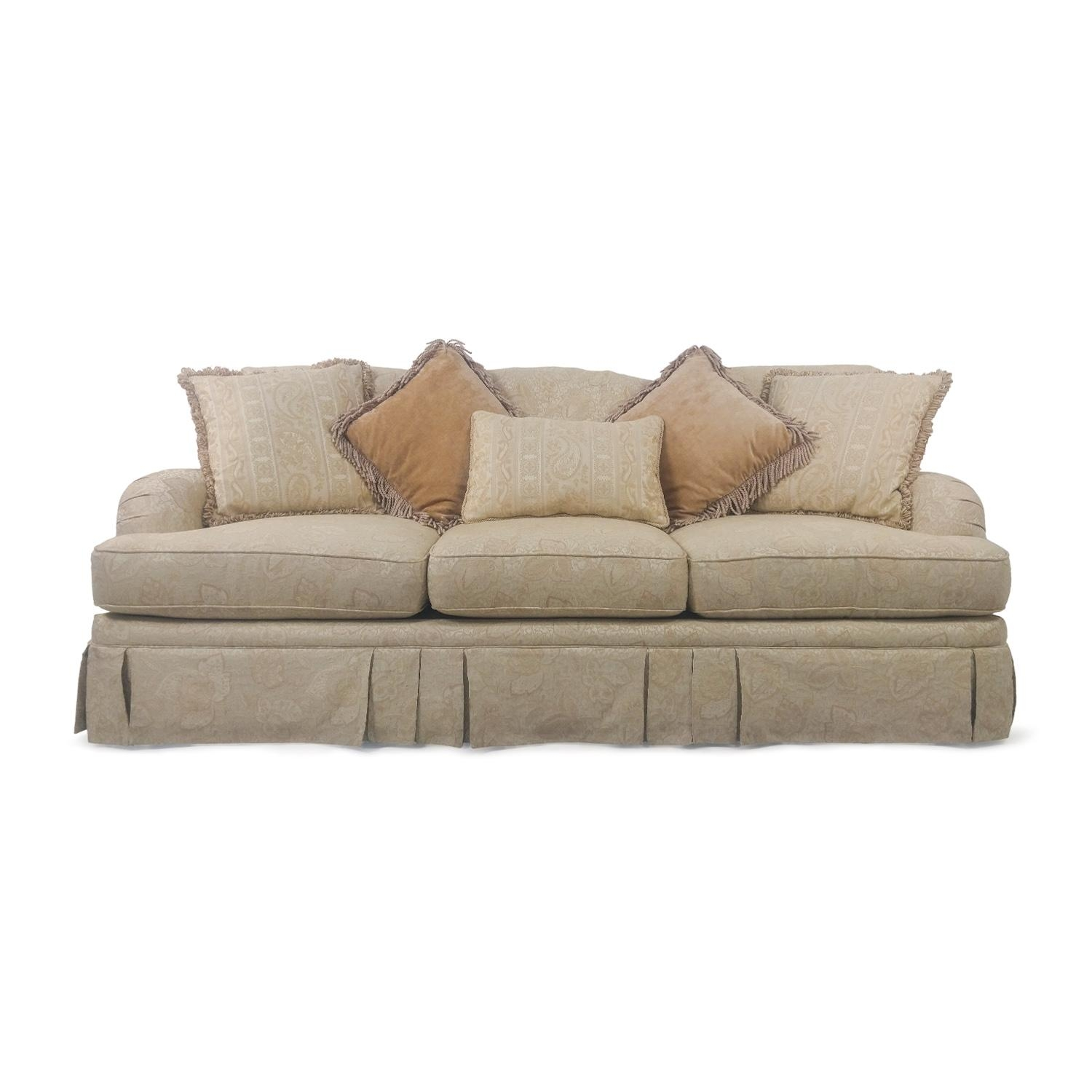 84% Off – Thomas Alexander Thomas Alexander Classic Sofa / Sofas Throughout Classic Sofas For Sale (Image 3 of 20)