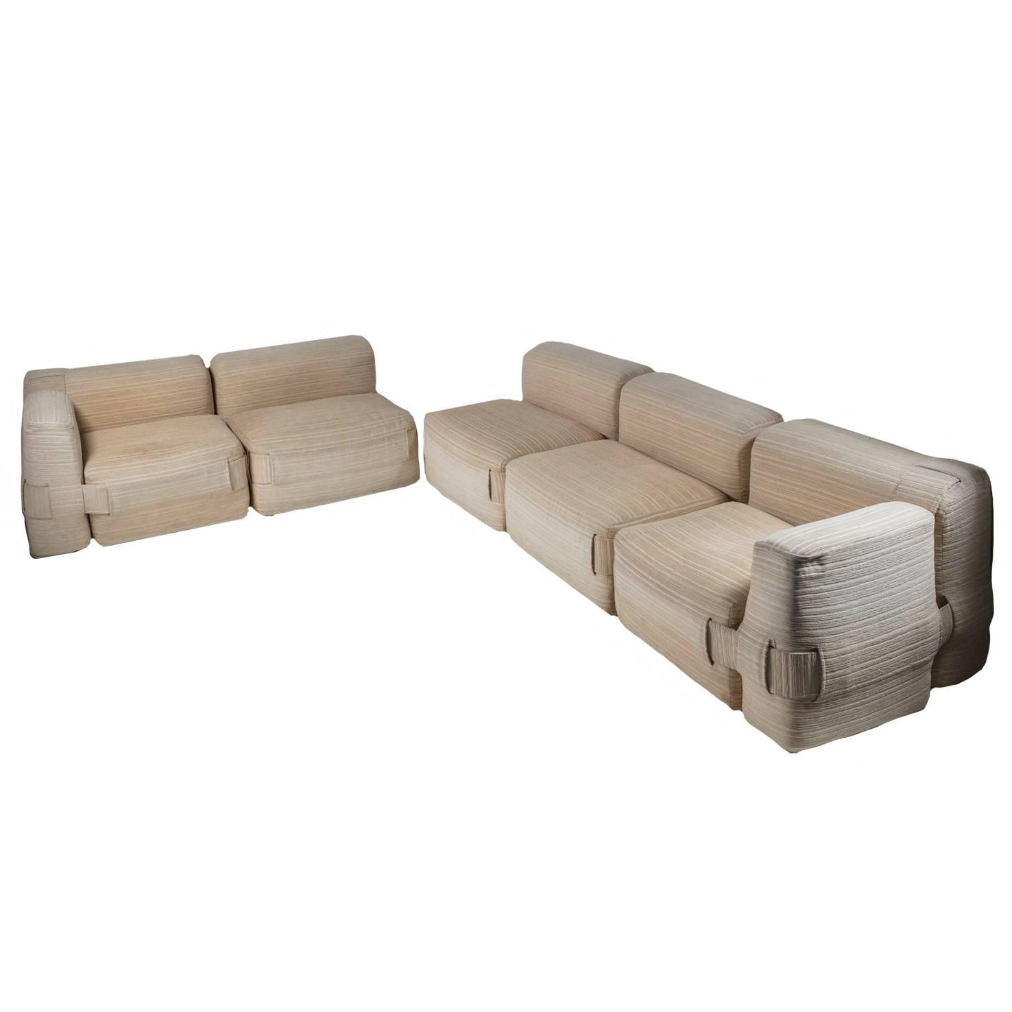 "932"" Sofa Setmario Bellini For Cassina For Sale At 1Stdibs Within Bellini Sofas (View 9 of 20)"