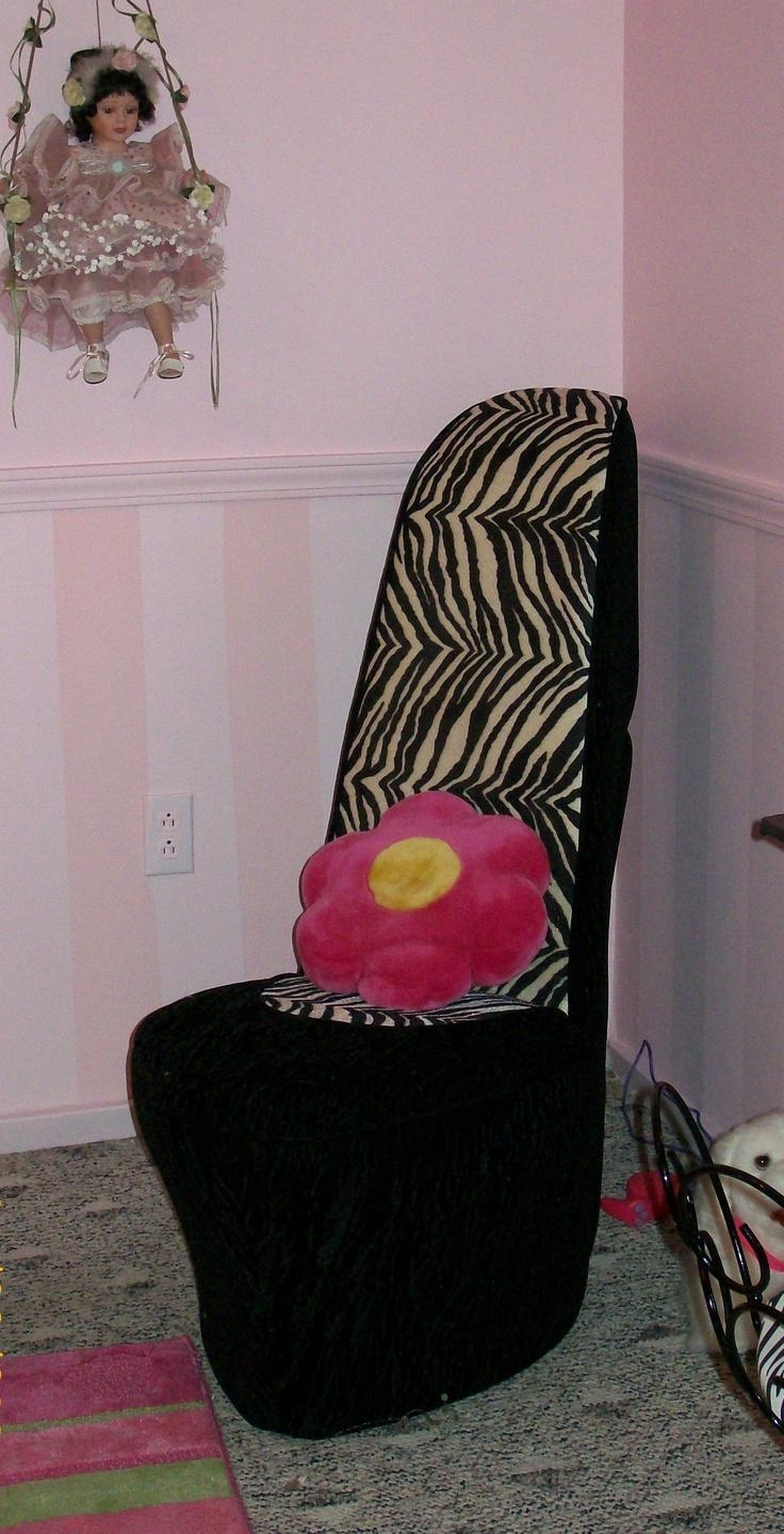 95 Best Shoe Chair Images On Pinterest | Bedroom Ideas, High Regarding Heel Chair Sofas (View 14 of 20)