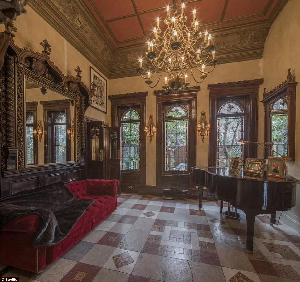 A Five Bedroom Gothic Style Pad In North London For £ (Image 9 of 20)