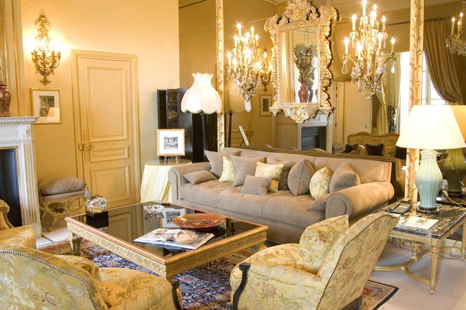 A Rare Look Inside Coco Chanel's Fabulous Parisian Apartment With With Regard To Coco Chanel Sofas (Image 1 of 20)