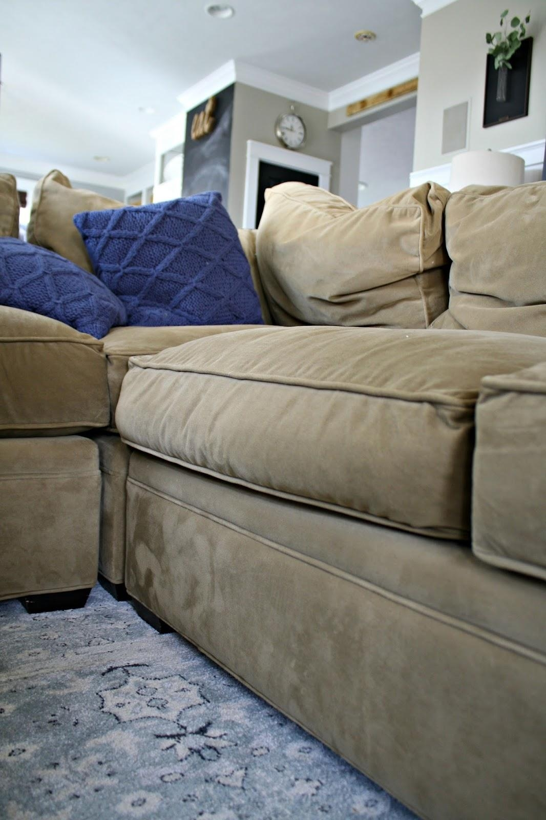 A Review Of Our Most Expensive Purchase! From Thrifty Decor Chick With Arhaus Slipcovers (Image 2 of 20)