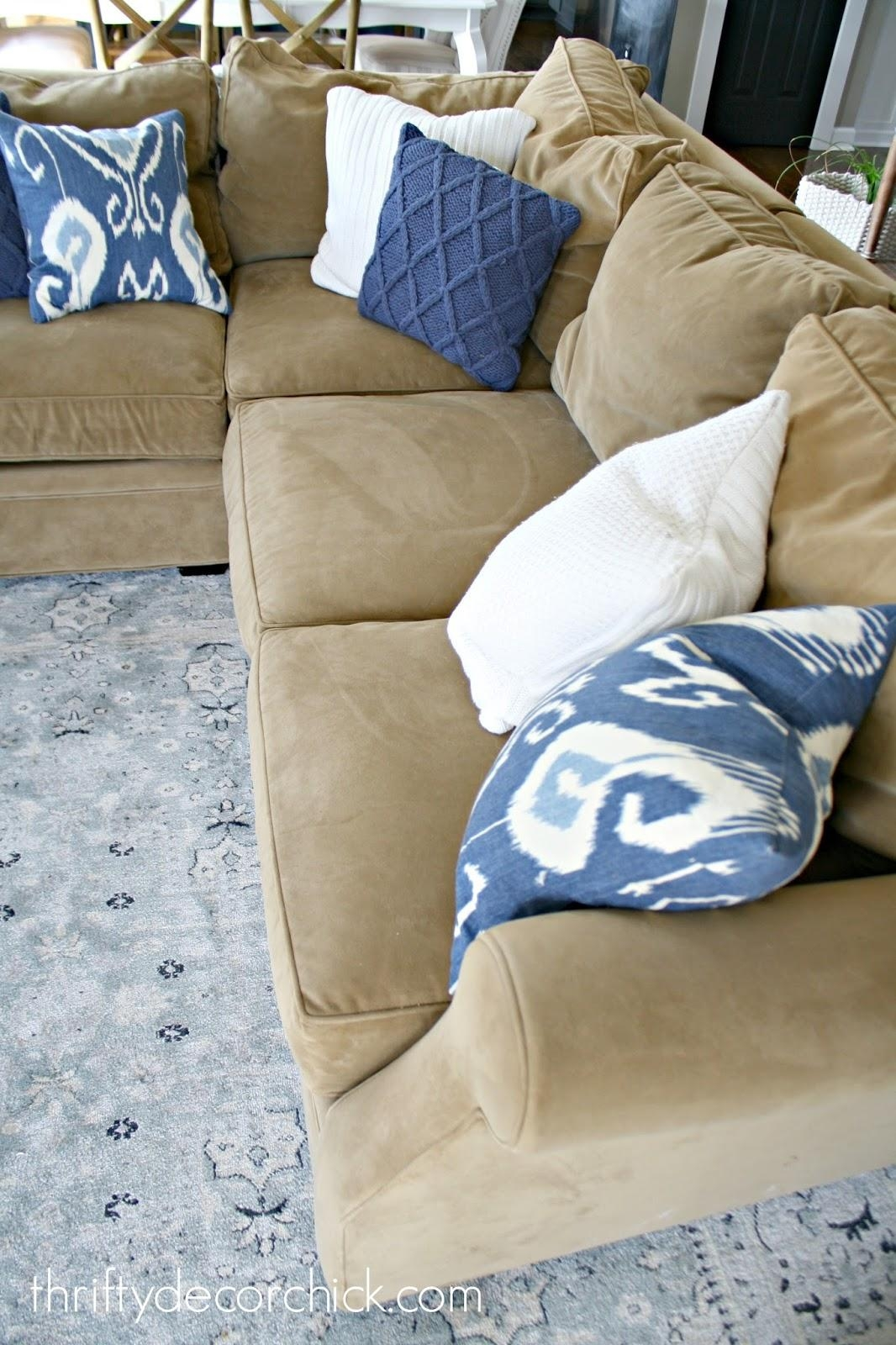 A Review Of Our Most Expensive Purchase! From Thrifty Decor Chick Within Arhaus Slipcovers (Image 3 of 20)