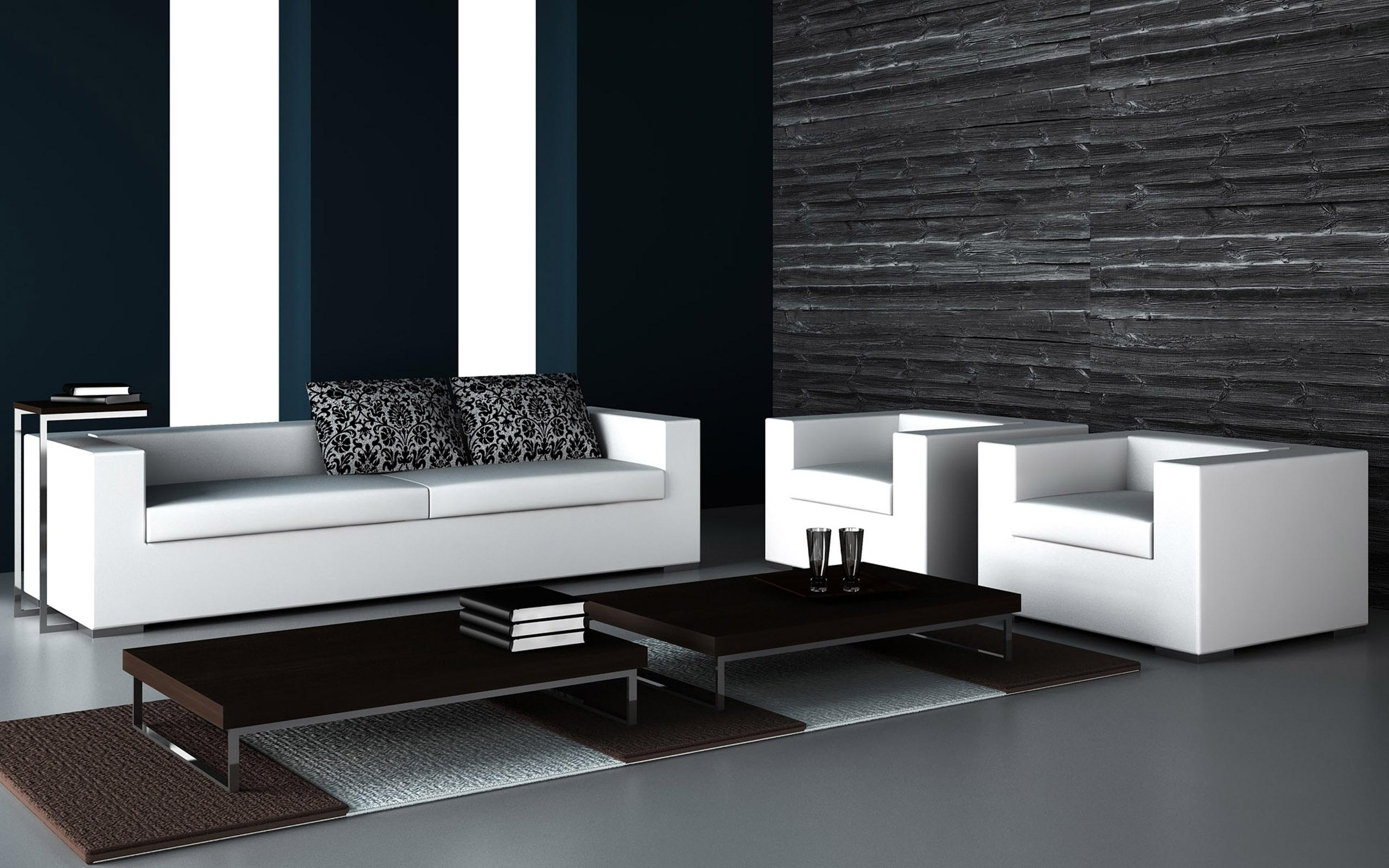 A Timeless Combination: How To Apply Black And White Color In Home For Sofas Black And White Colors (Image 3 of 20)