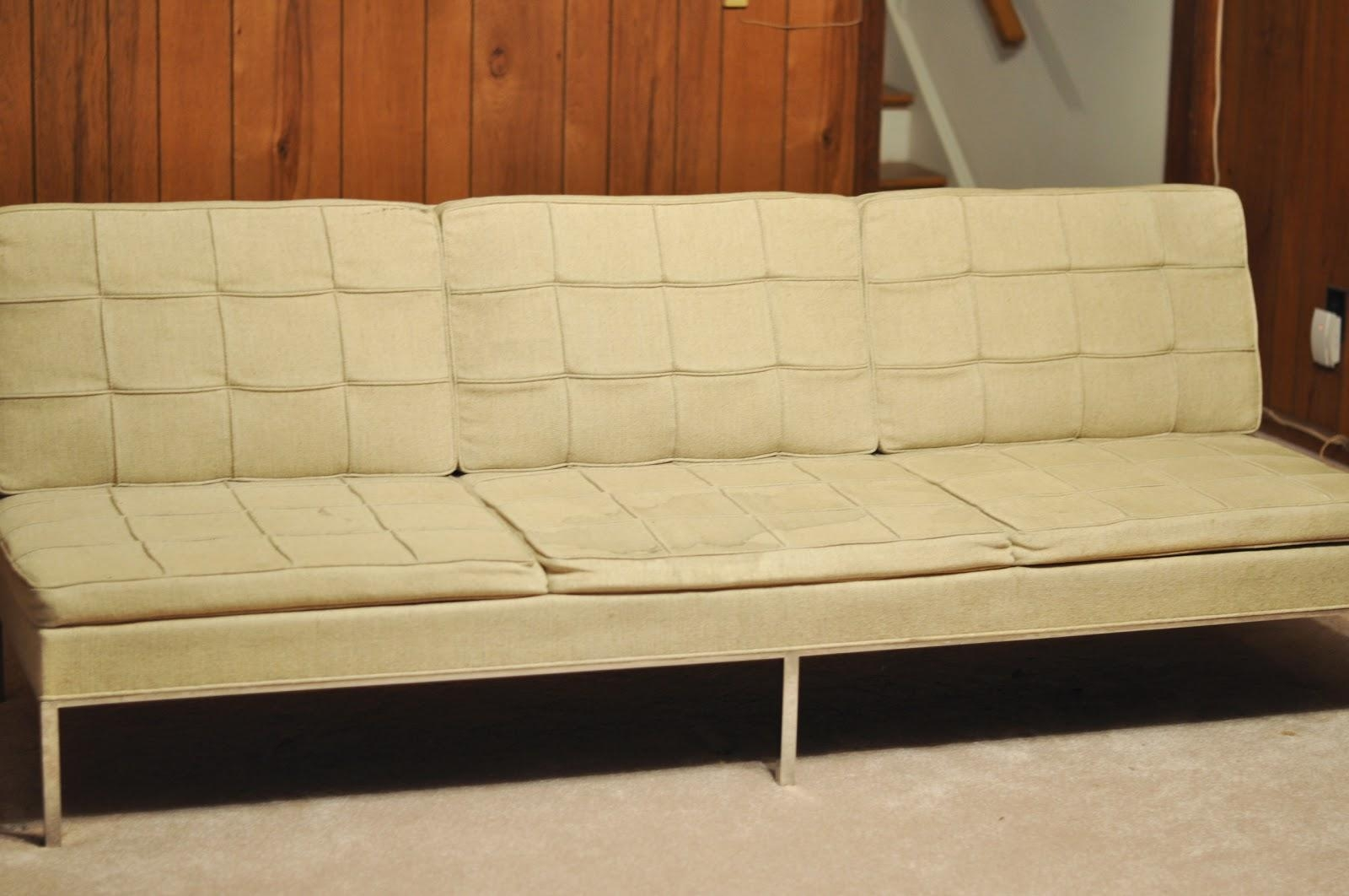 A Treasure In Storage: The Florence Knoll Sofa Comes Home | The Inside Florence Medium Sofas (View 6 of 20)