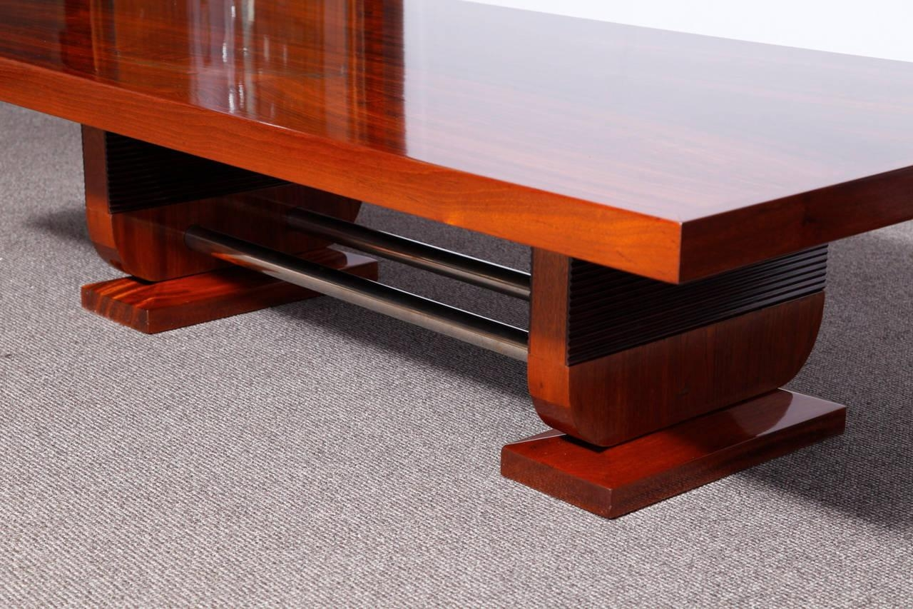 A Very Large Art Deco Sofa Coffee Table | Modernism Within Very Large Sofas (Image 7 of 20)