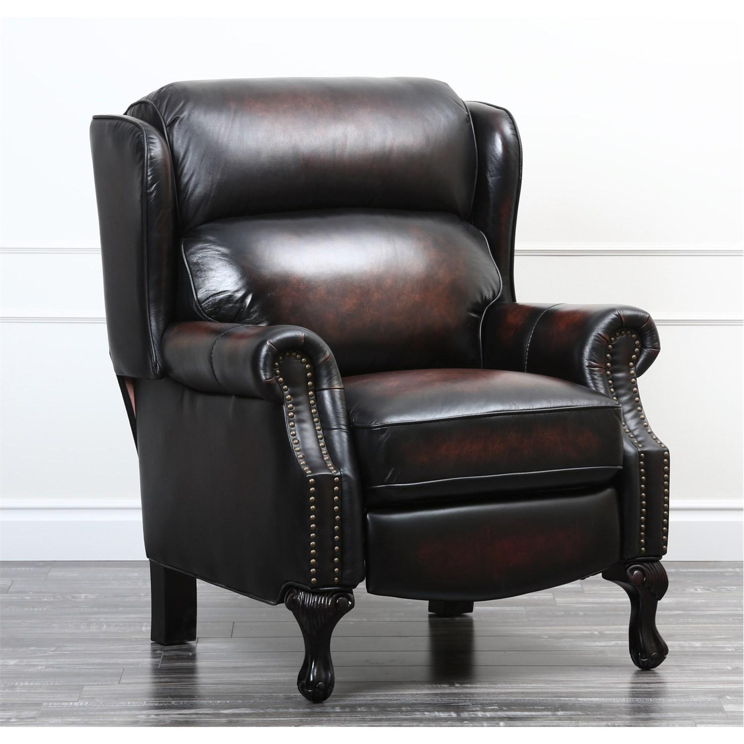 Abbyson Living Cr 9120 Brn Veda Pushback Recliner – Homeclick Within Abbyson Recliners (View 16 of 20)