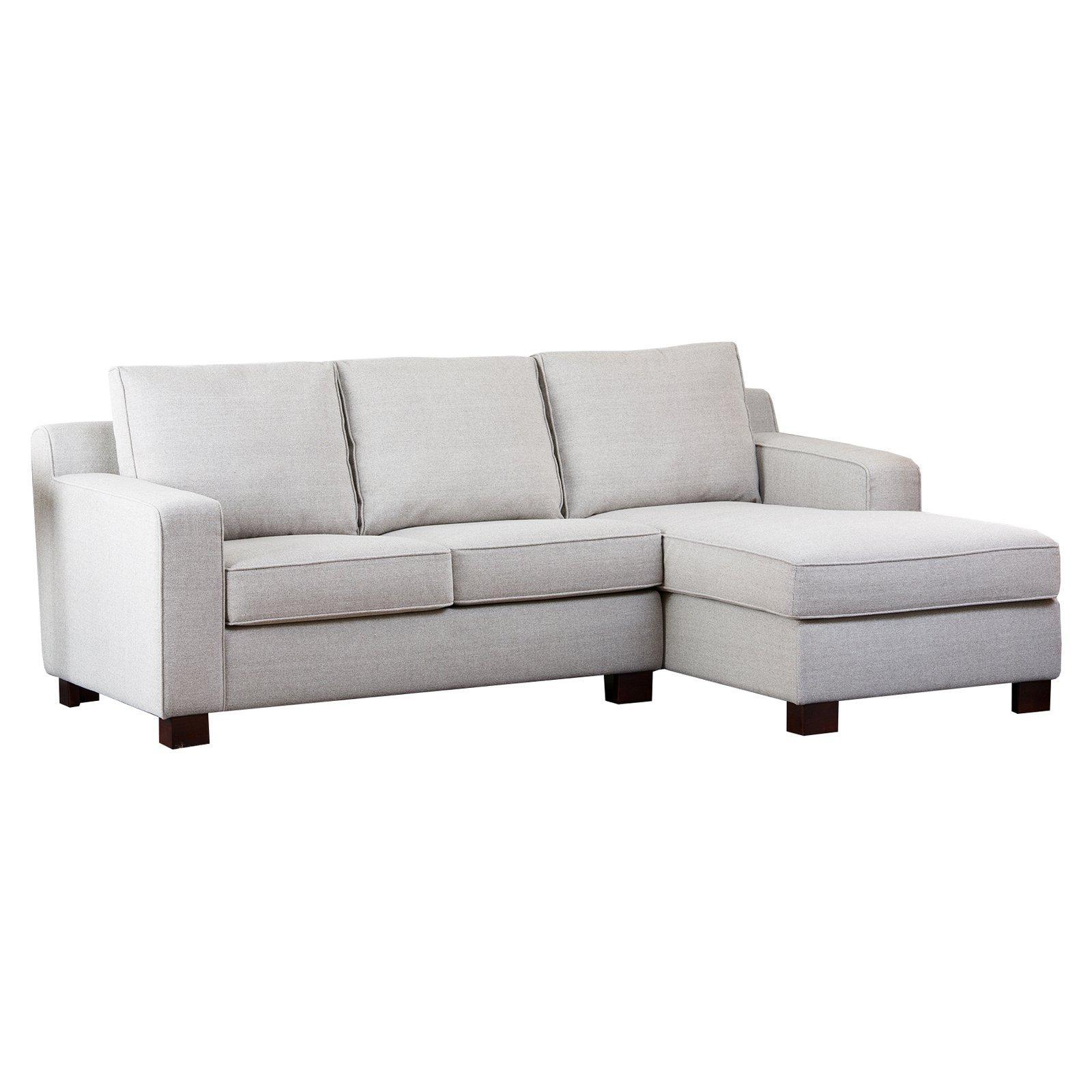 Abbyson Regina Sectional Sofa – Gray | Hayneedle Within Abbyson Sectional Sofas (Image 9 of 20)