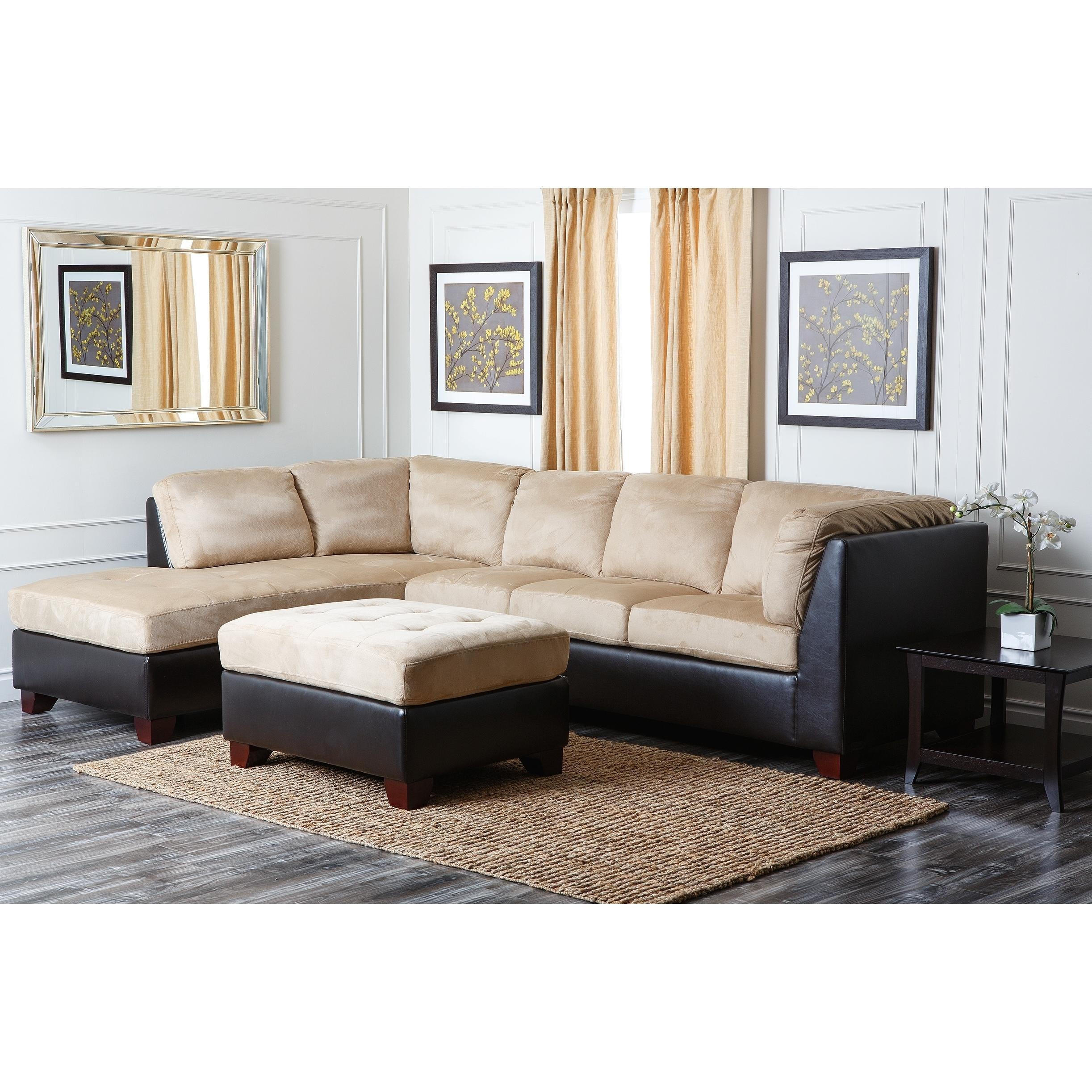Abbyson Sectional Sofa | Sofa Gallery | Kengire For Abbyson Sectional Sofa (Image 4 of 15)