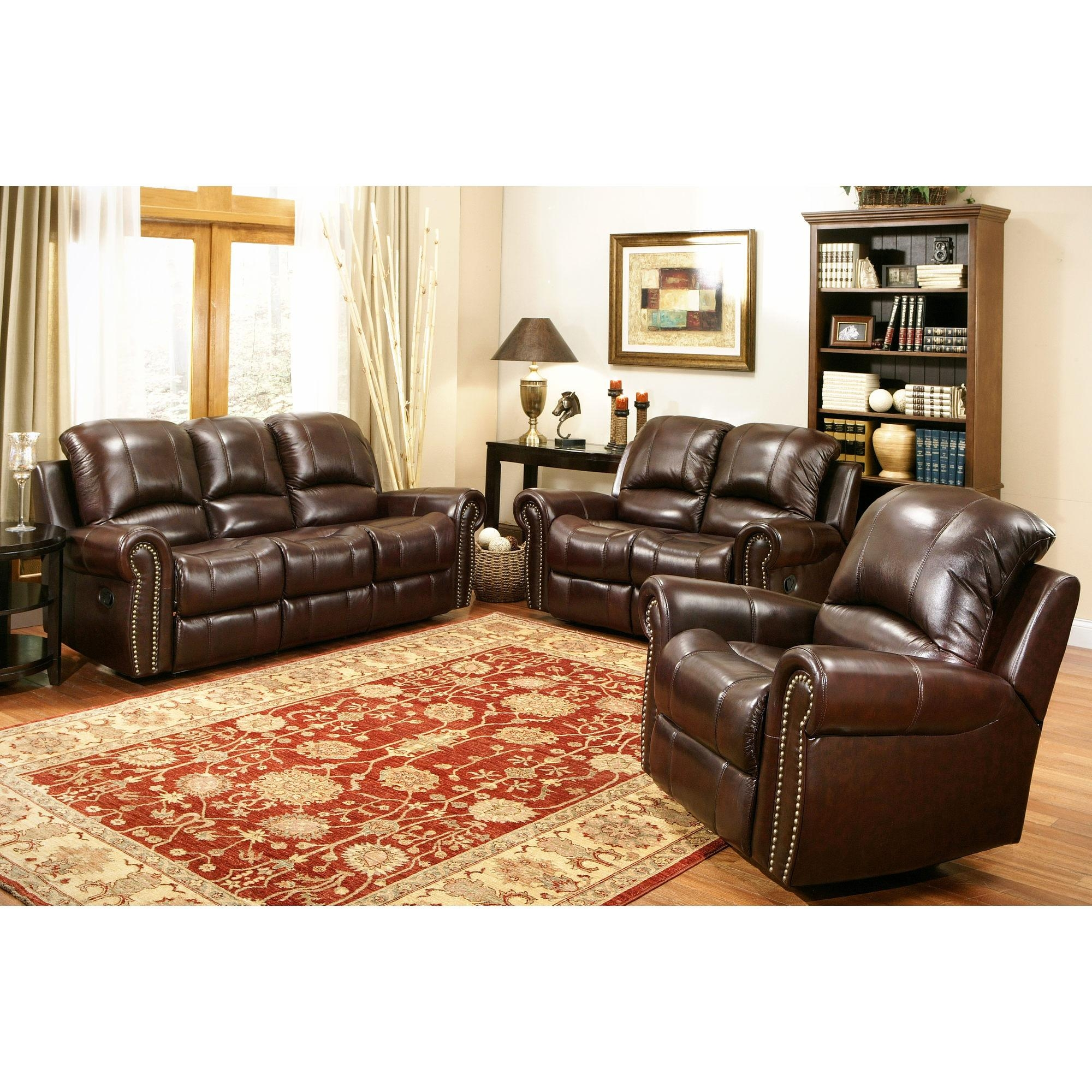 Abbyson sofa abbyson living beverly leather sofa in for Antigua wicker chaise