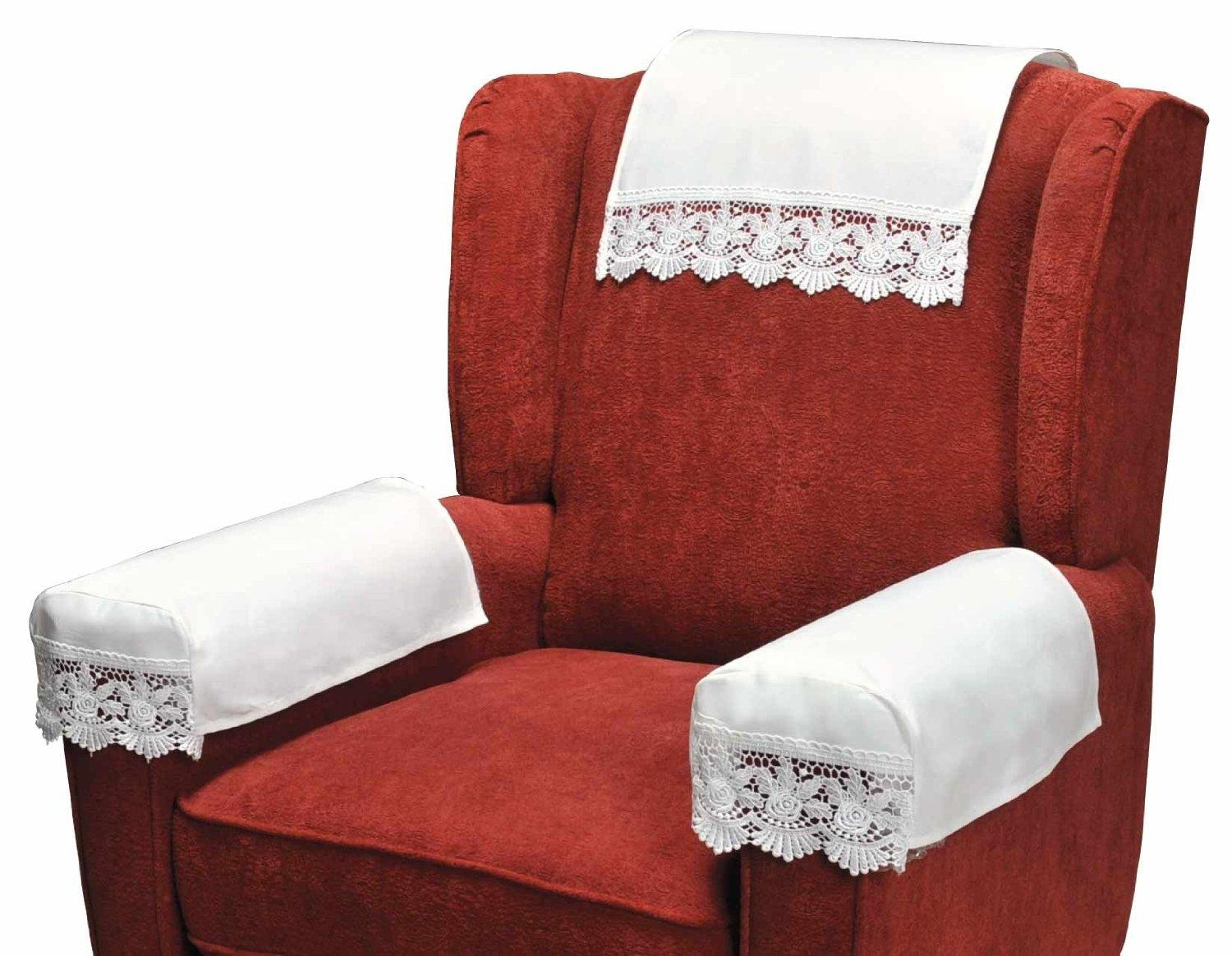 Accessories: Unique Fabric Ready Made Slip Covers With Quote Motif With Regard To Sofa Accessories (Image 3 of 20)