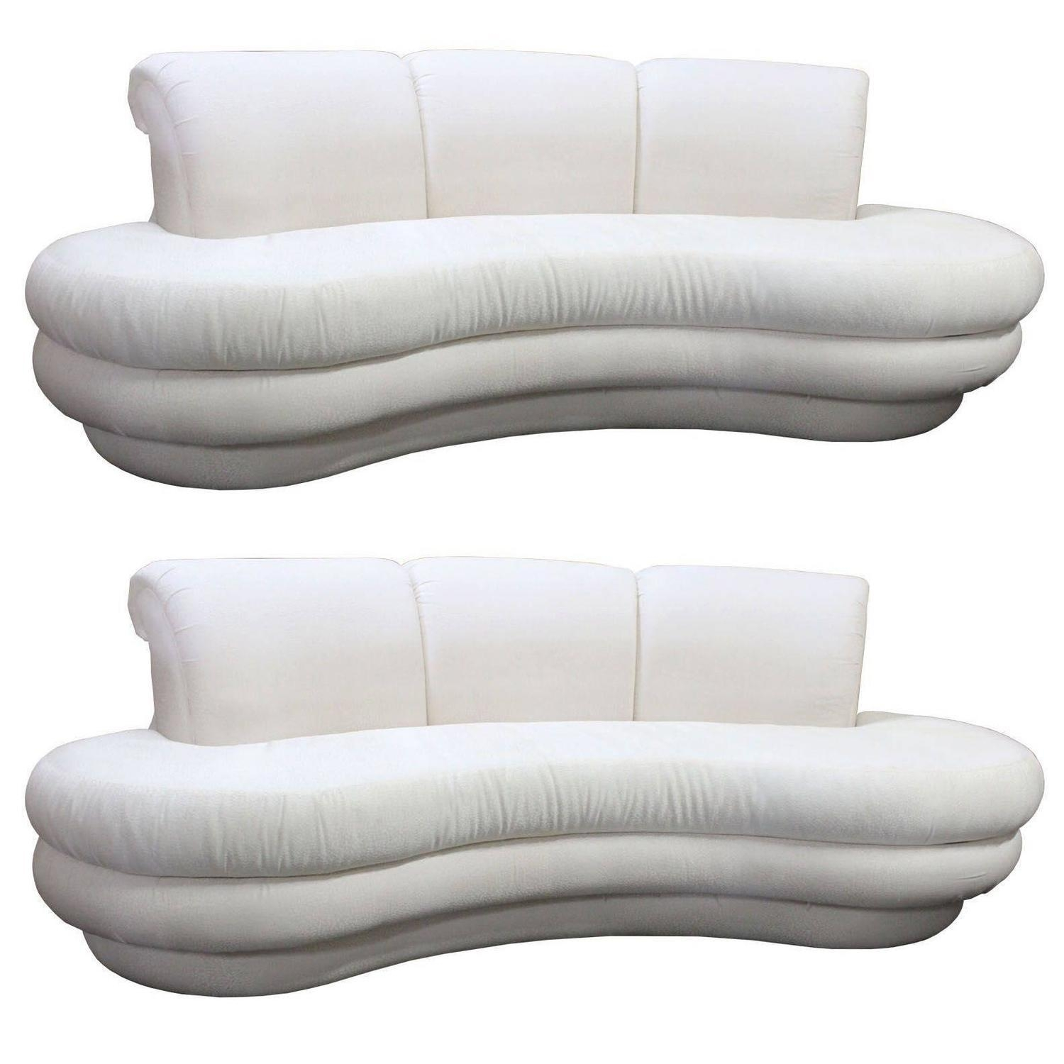 Adrian Pearsall Sofas – 64 For Sale At 1Stdibs Pertaining To Floating Cloud Couches (View 11 of 21)
