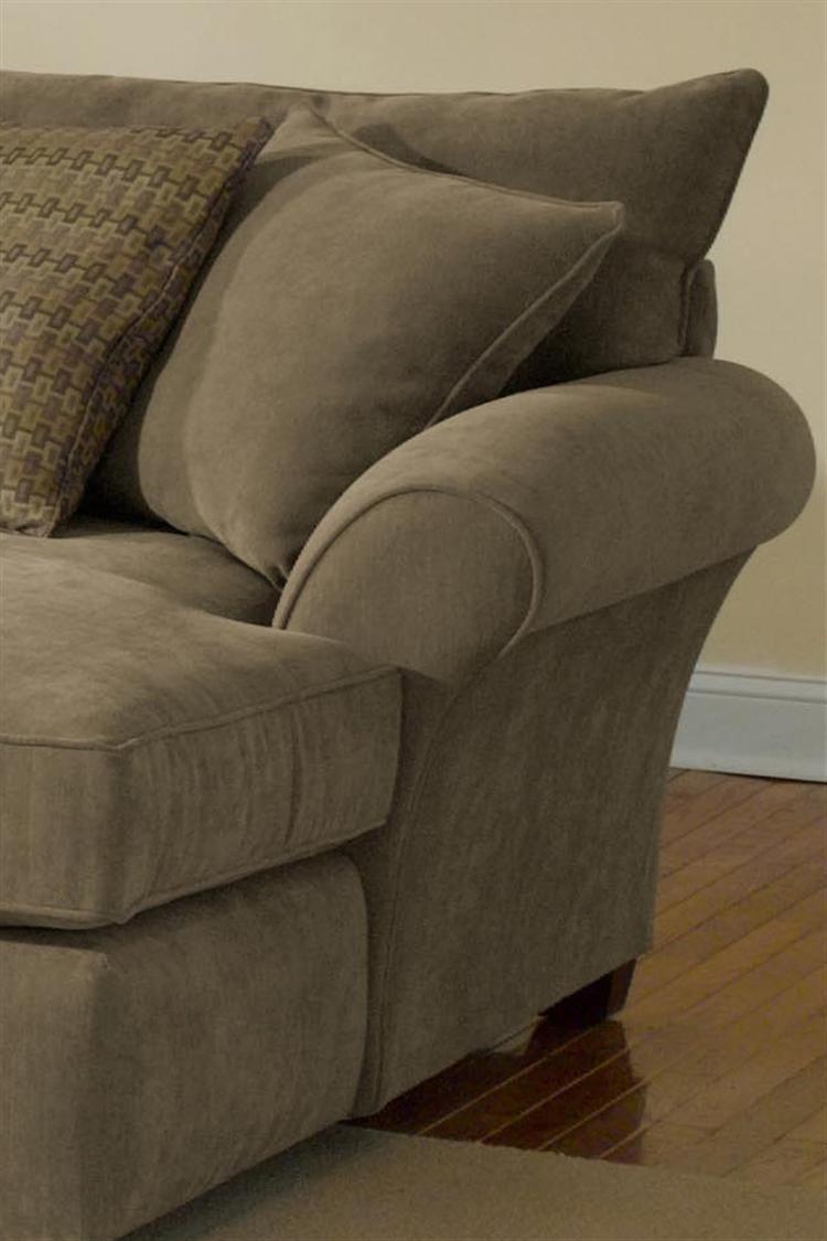 Alan White 10400 Upholstered Sectional – Bigfurniturewebsite Pertaining To Alan White Loveseats (Image 3 of 20)