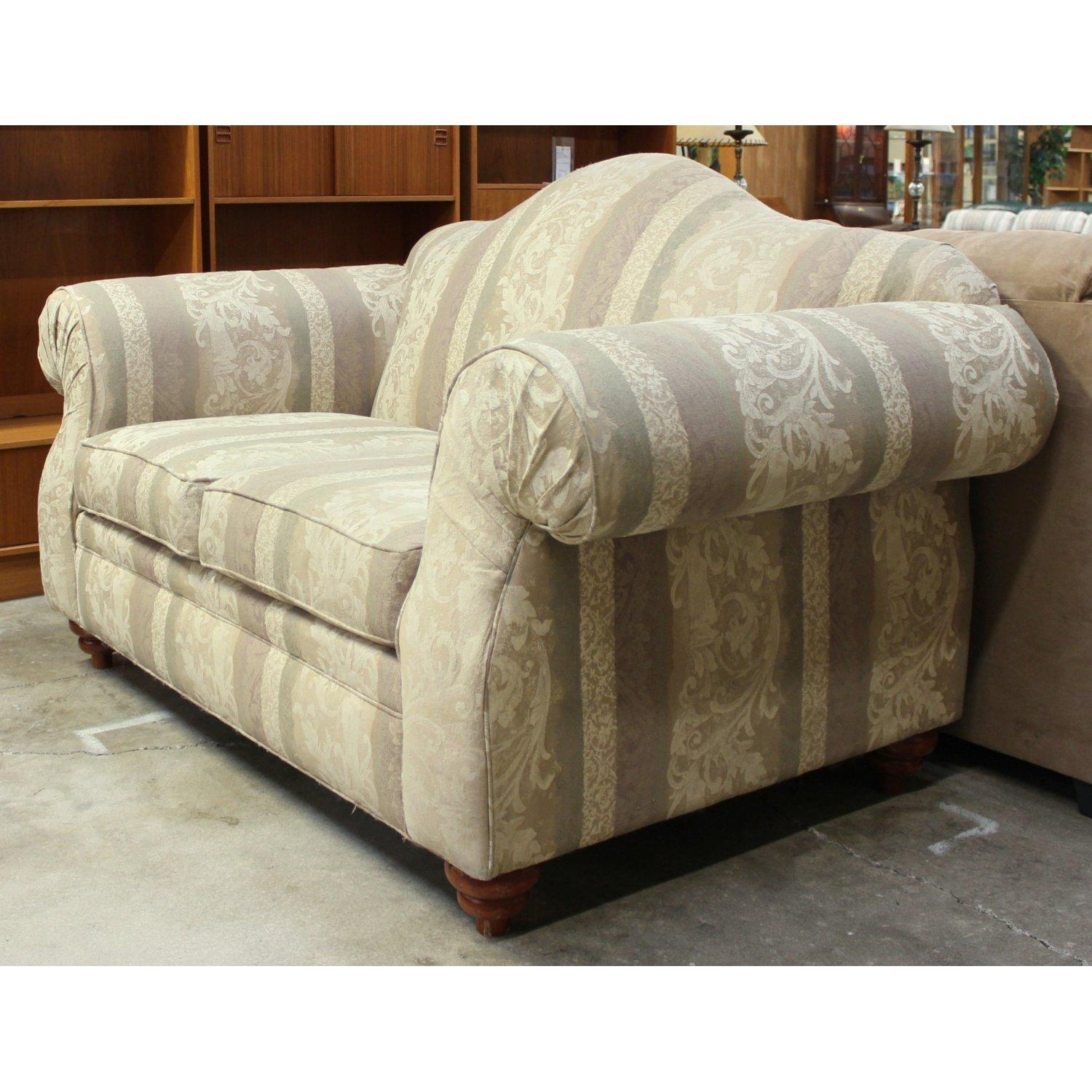 Alan White Camelback Loveseat | Upscale Consignment Inside Alan White Sofas (Image 3 of 20)