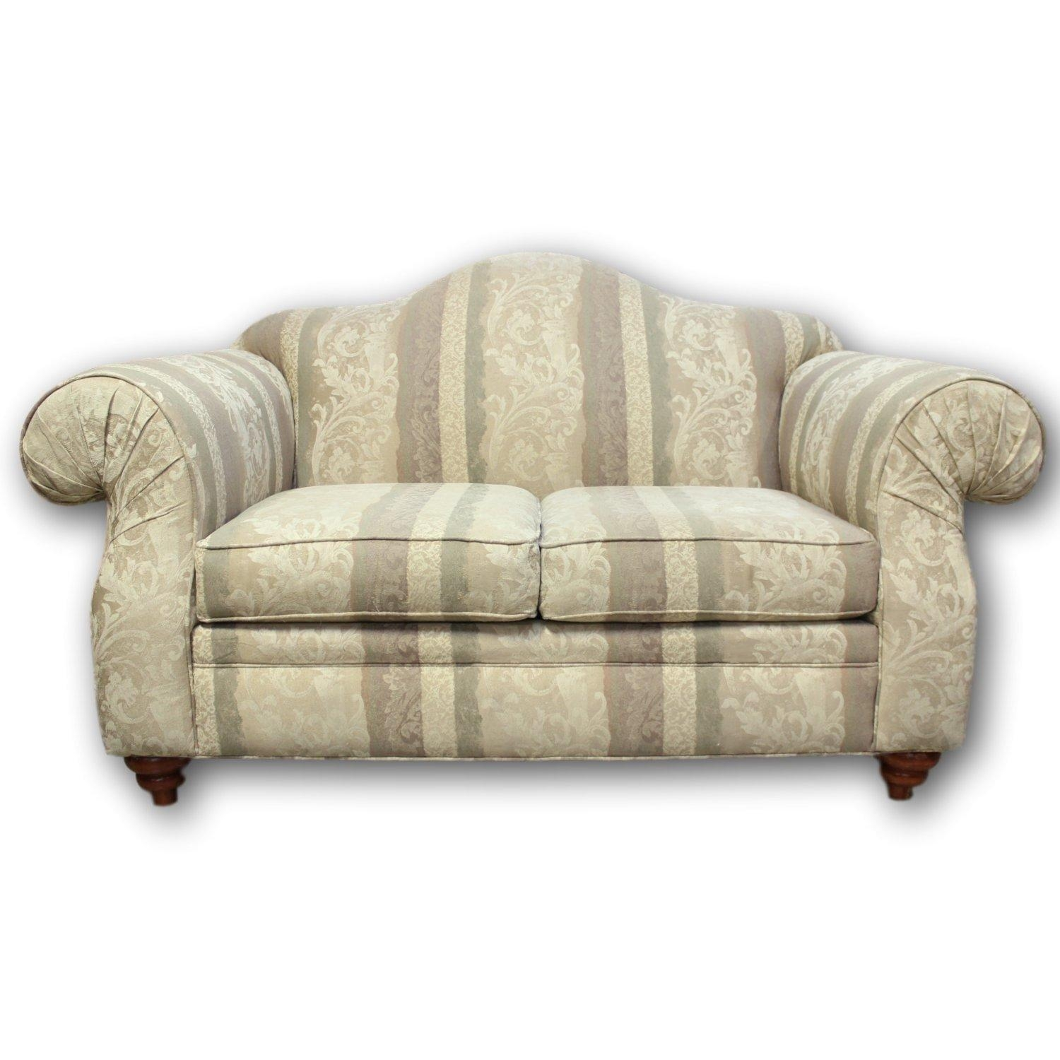 Alan White Camelback Loveseat | Upscale Consignment Throughout Alan White Couches (Image 3 of 20)