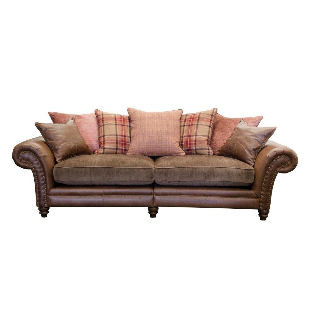 Alexander & James Hudson 4 Seater Sofa | Cardiff, Swansea, Bridgend Regarding 4 Seater Sofas (View 11 of 20)