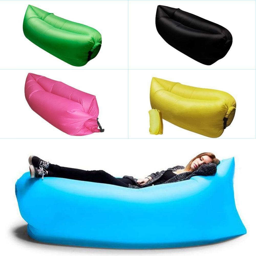 Aliexpress : Buy Lounge Sleep Bag Lazy Inflatable Beanbag Sofa With Lazy Sofa Chairs (Image 4 of 20)