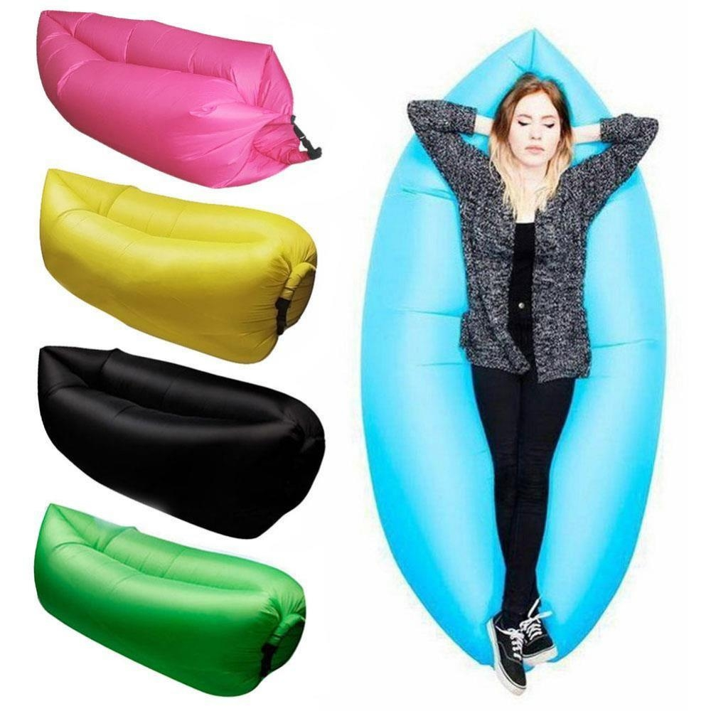 Aliexpress : Buy Lounge Sleep Bag Lazy Inflatable Beanbag Sofa With Lazy Sofa Chairs (Image 3 of 20)