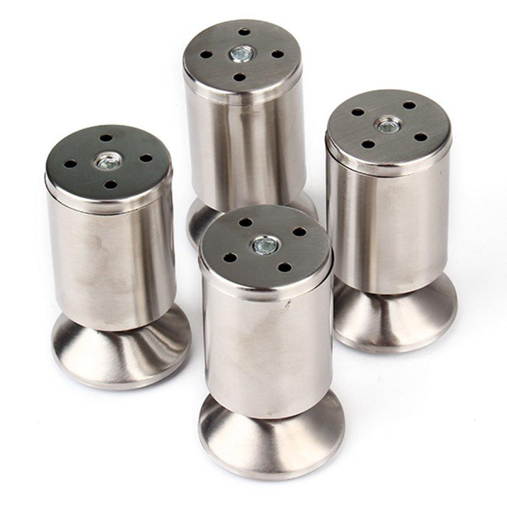 Aliexpress : Buy Stainless Steel Kitchen Adjustable Feet Round Throughout Adjustable Sofa Legs (View 3 of 20)