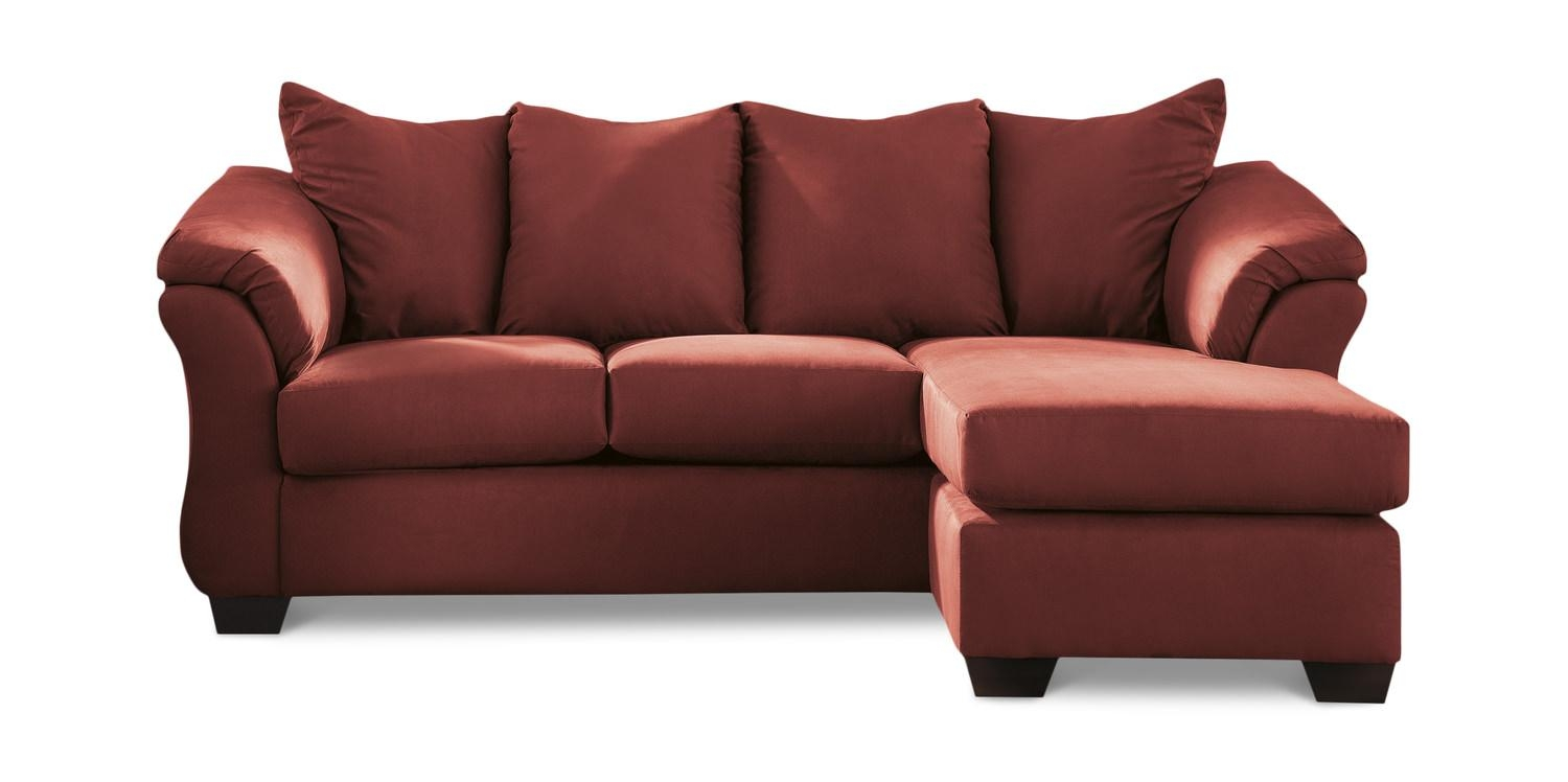 Almath Sofa With Reversible Chaise | Hom Furniture | Furniture For Chaise Sofas (View 20 of 20)