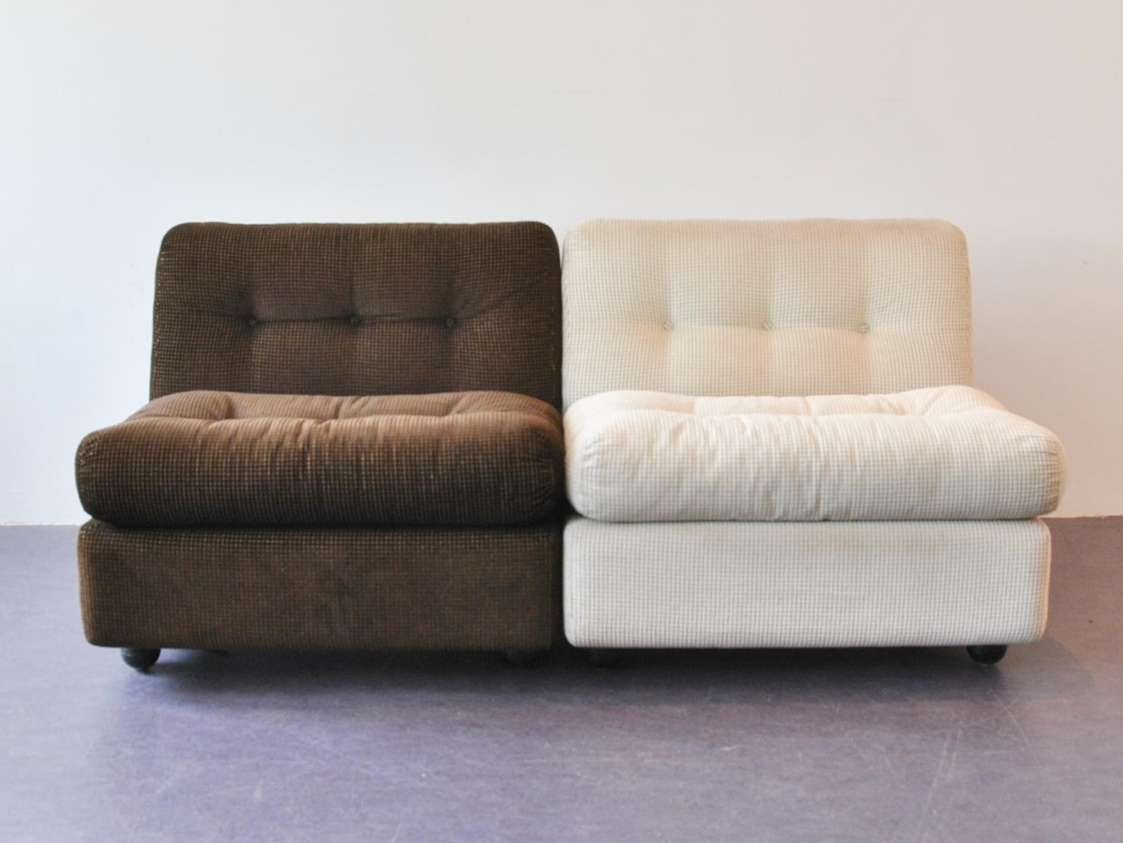 Amanta Easy Chairsmario Bellini For B&b Italia, Set Of 2 For Pertaining To Bellini Couches (View 8 of 20)