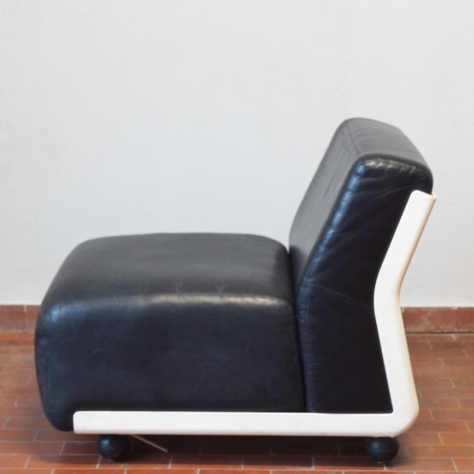 Amanta Leather Sofa Elementmario Bellini For B&b Italia, 1966 With Regard To Bellini Couches (Image 2 of 20)