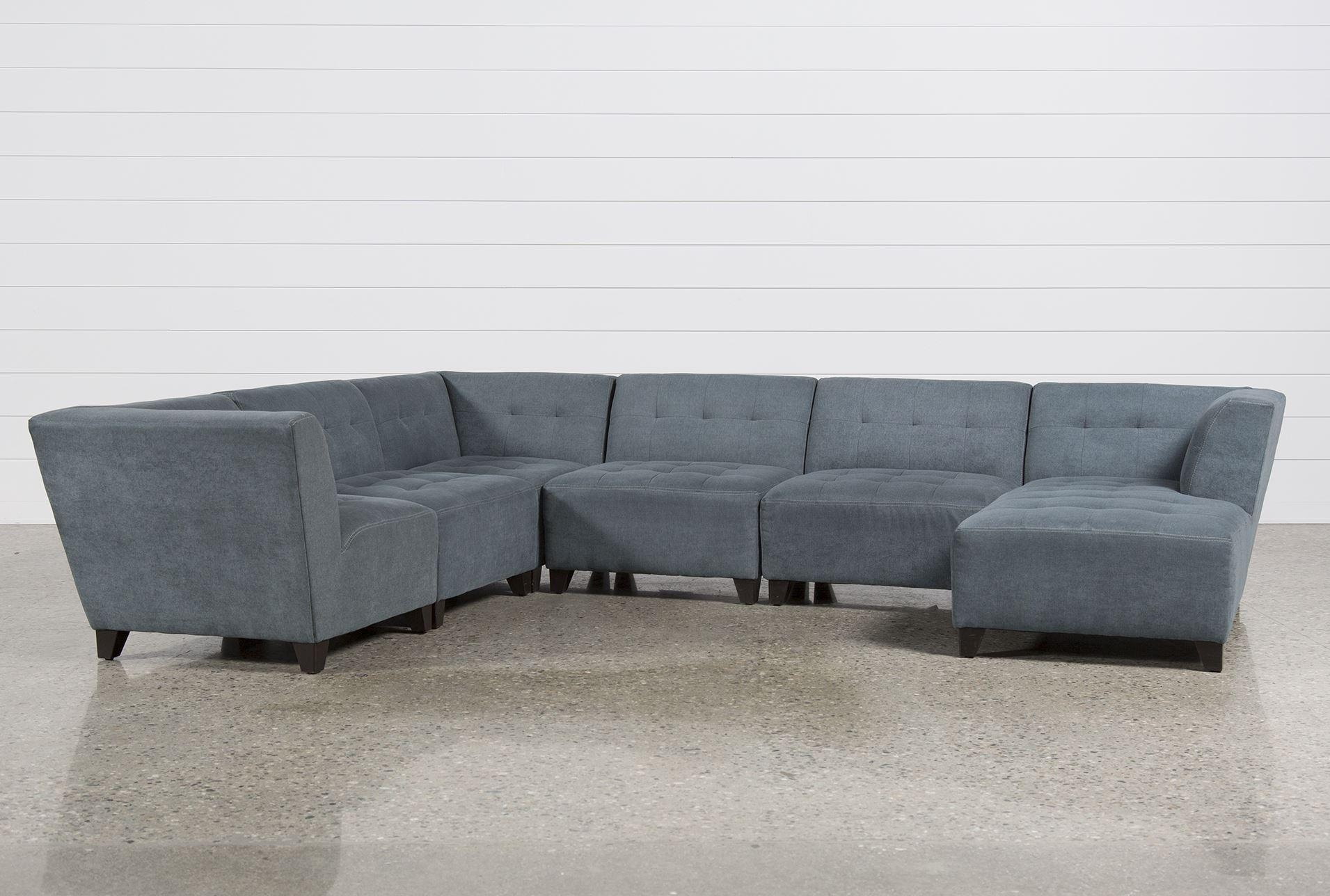 Amazing 6 Piece Sectional Sofa 17 For Sofas And Couches Set With 6 With Regard To 6 Piece Sectional Sofas Couches (Image 5 of 20)