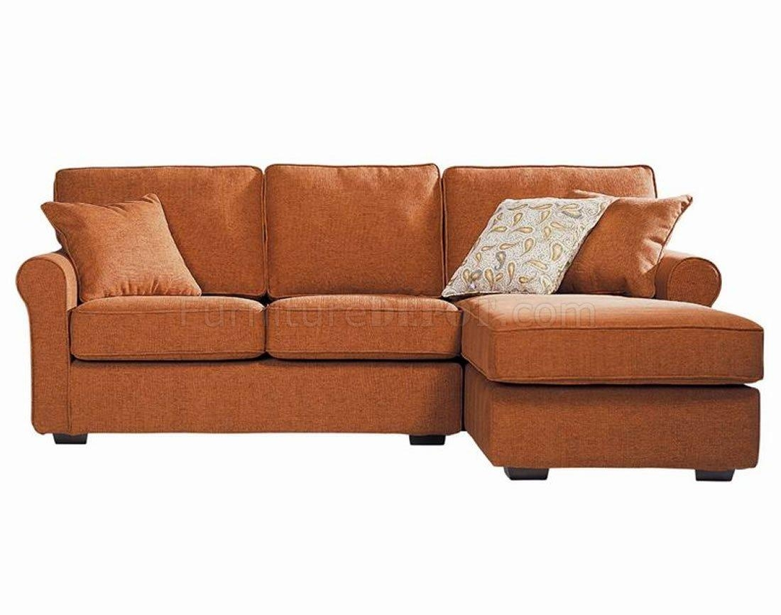 Amazing Orange Sectional Sofa 33 In Sofas And Couches Ideas With Pertaining To Orange Sectional Sofas (Image 4 of 20)