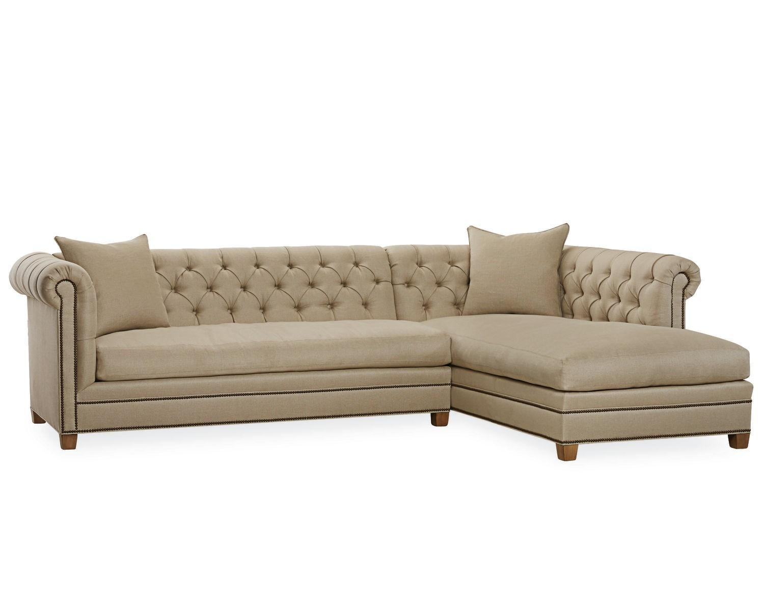 American Furniture | Cambridge Sectional | Lee Industries Intended For Lee Industries Sectional Sofa (Image 1 of 20)