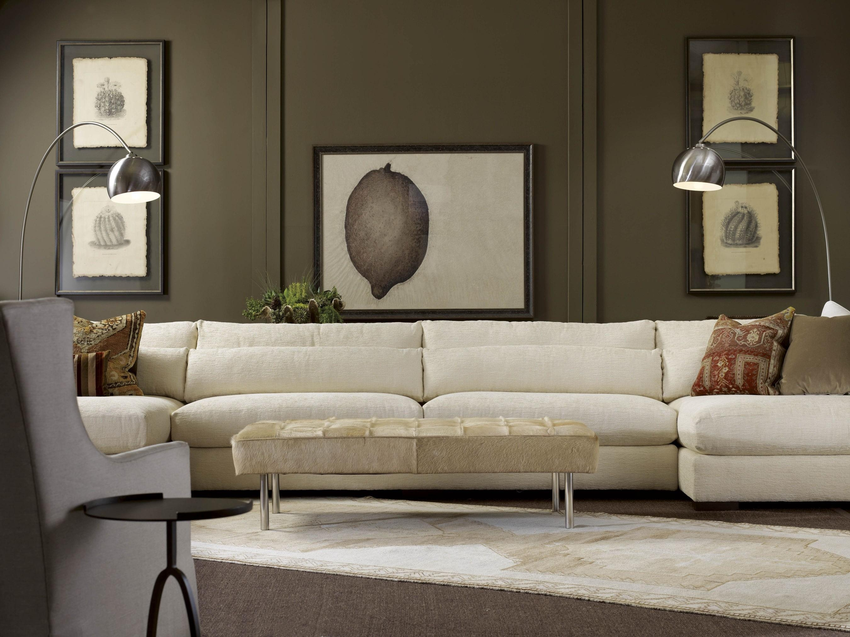 American Furniture | Menlo Park Double Sectional | Lee Industries Regarding Lee Industries Sectional Sofa (Image 3 of 20)