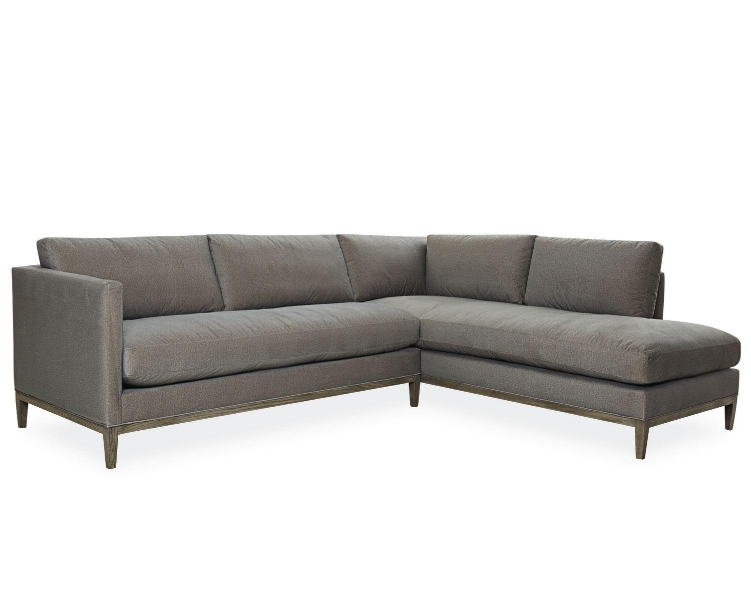American Furniture | Palm Springs Chaise Sectional | Lee Industries Intended For Lee Industries Sectional (Image 5 of 20)