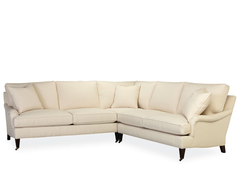 American Furniture | Savannah L Sectional | Lee Industries In Lee Industries Sectional (Image 7 of 20)