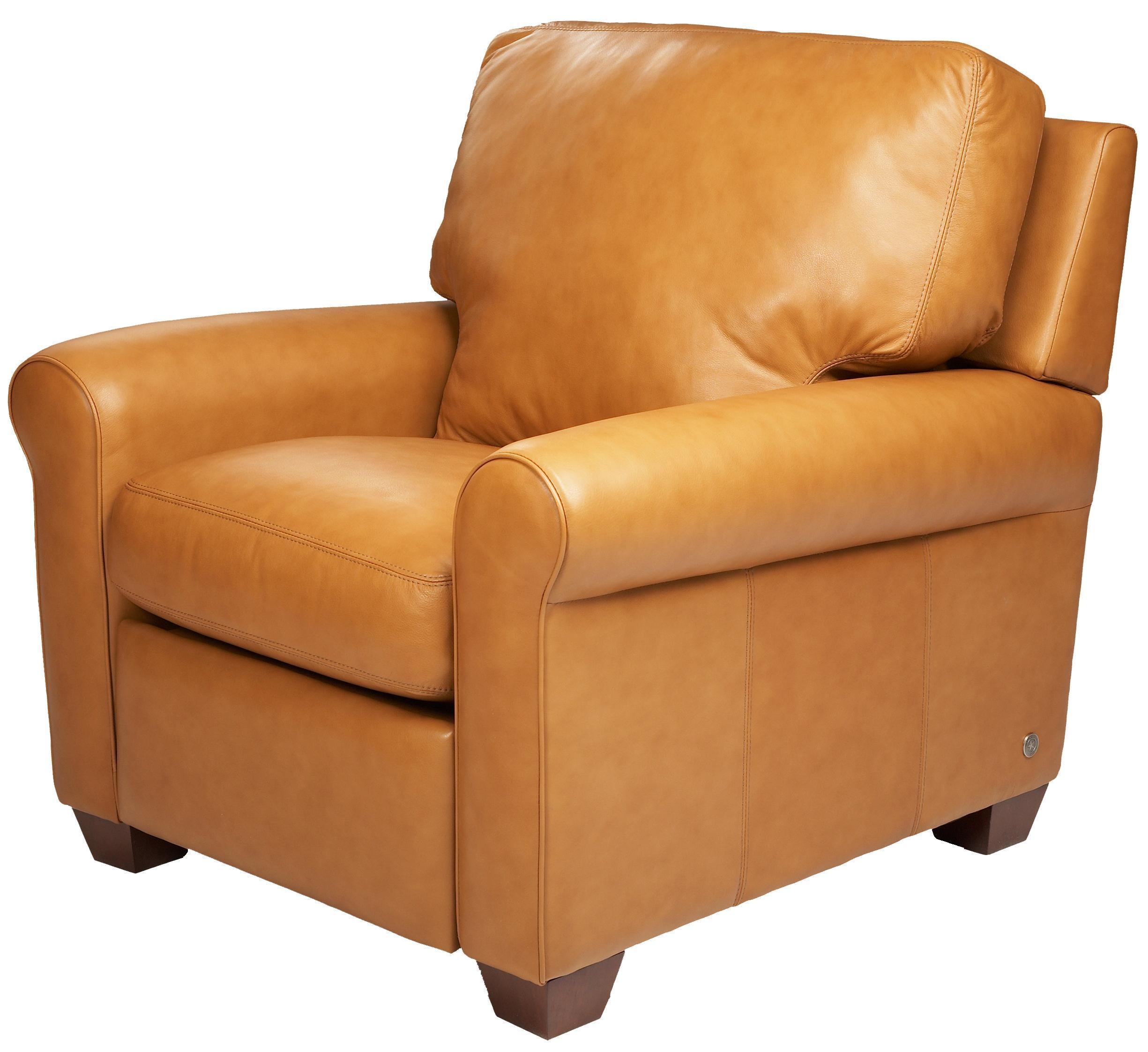 American Leather Savoy Contemporary High Leg Recliner – Ahfa Throughout Savoy Leather Sofas (View 19 of 20)