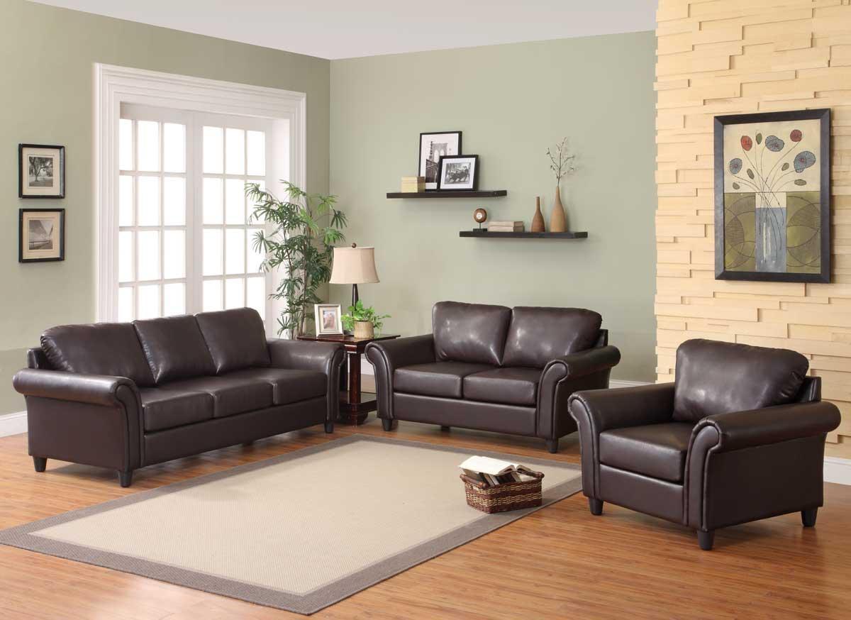 Amusing 20+ Living Room Decor Ideas With Brown Furniture Regarding Black Sofas Decors (Image 2 of 20)