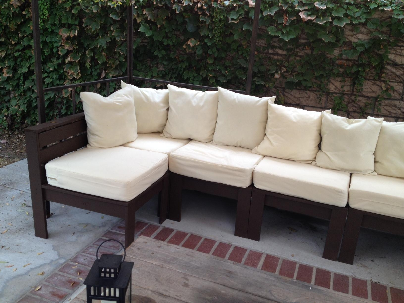 Ana White | Giant Outdoor Sectional – Diy Projects Intended For Ana White Outdoor Sectional Sofas (View 17 of 20)